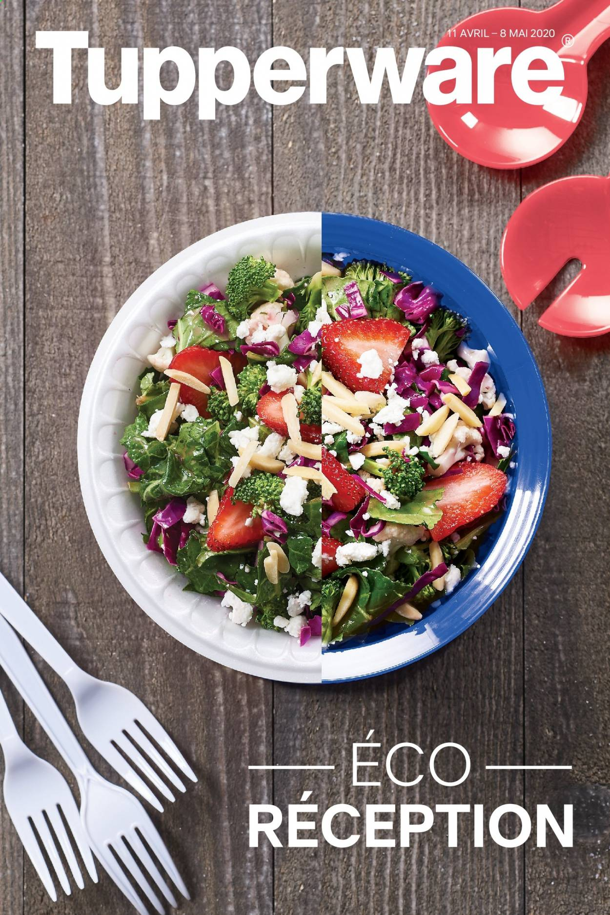 Tupperware Flyer  - April 11, 2020 - May 08, 2020. Page 1.