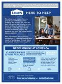 Lowe's Flyer - April 08, 2020 - April 22, 2020.