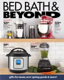 Bed Bath & Beyond Flyer - April 27, 2020 - May 10, 2020.