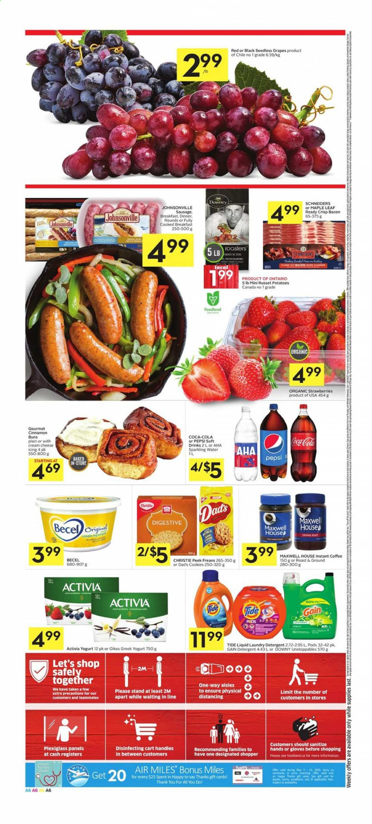Foodland Flyer  - May 07, 2020 - May 13, 2020. Page 6.