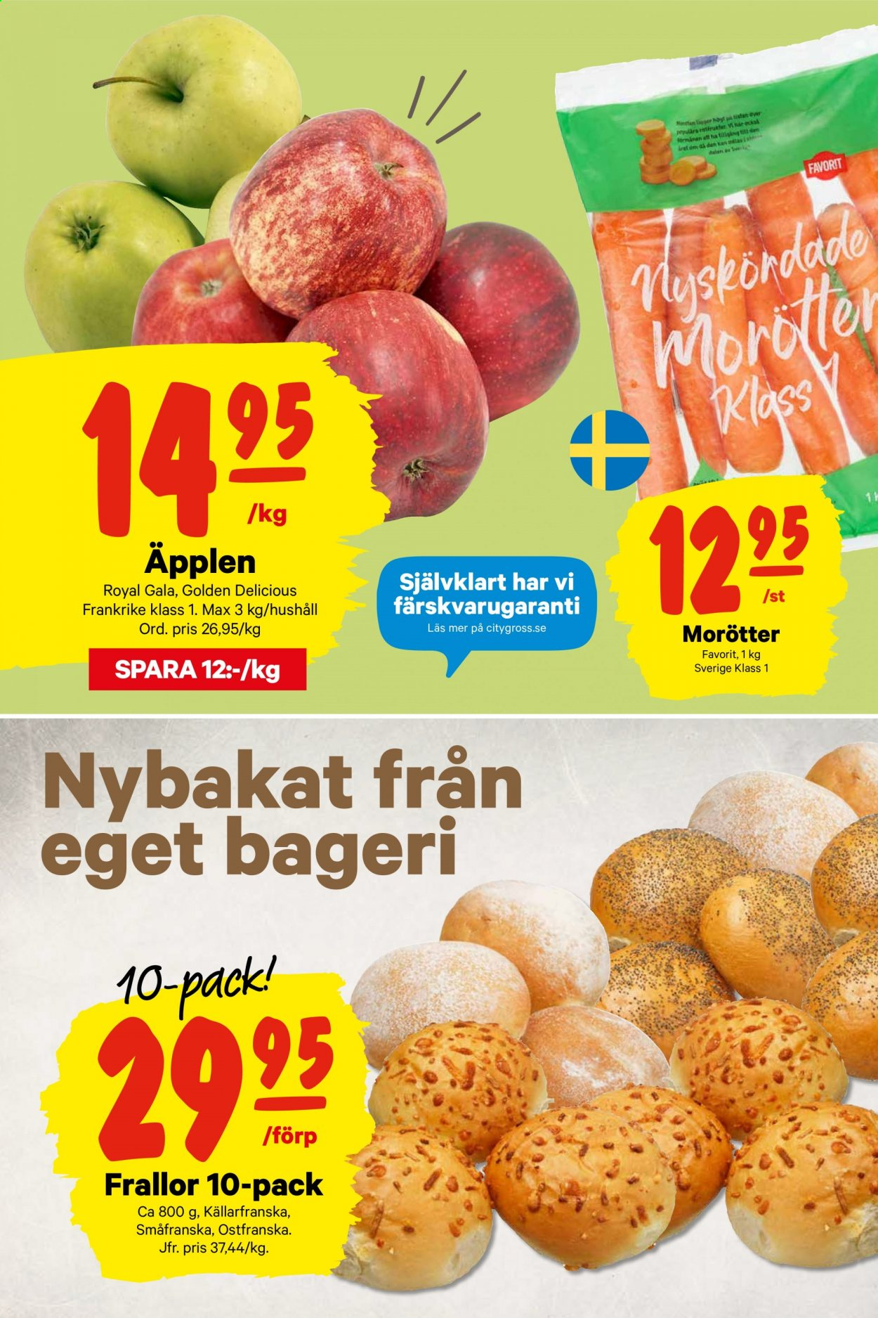 City Gross reklamblad - 22/3 2020 - 22/3 2020. Sida 3.