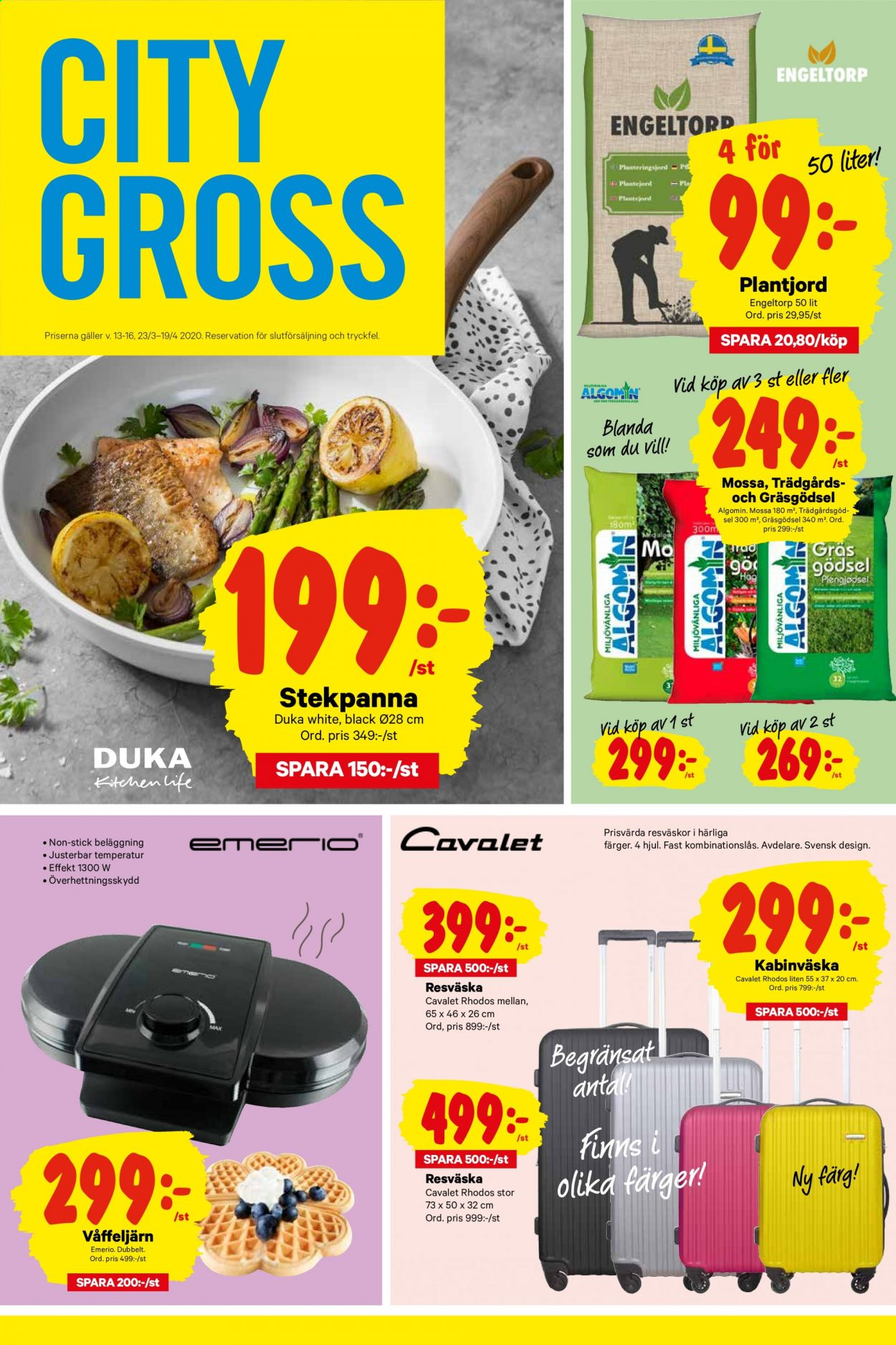 City Gross reklamblad - 22/3 2020 - 22/3 2020. Sida 4.