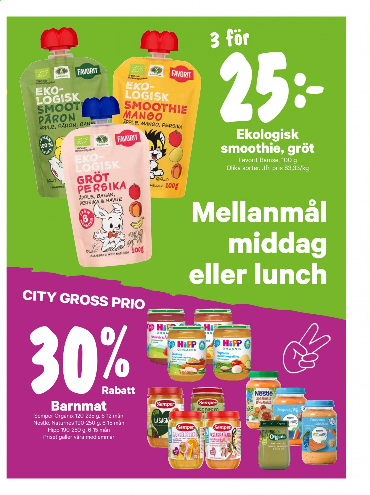 City Gross reklamblad - 6/7 2020 - 12/7 2020. Sida 13.