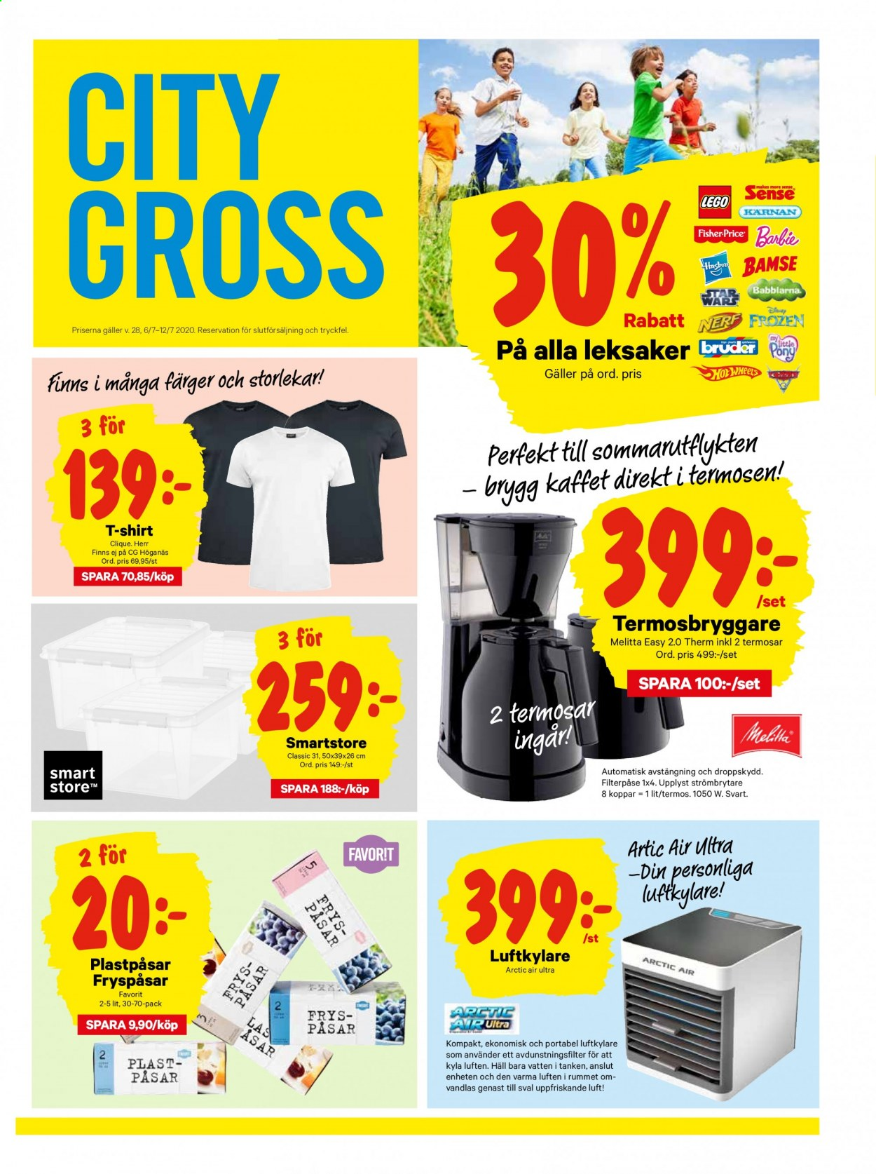 City Gross reklamblad - 6/7 2020 - 12/7 2020. Sida 17.