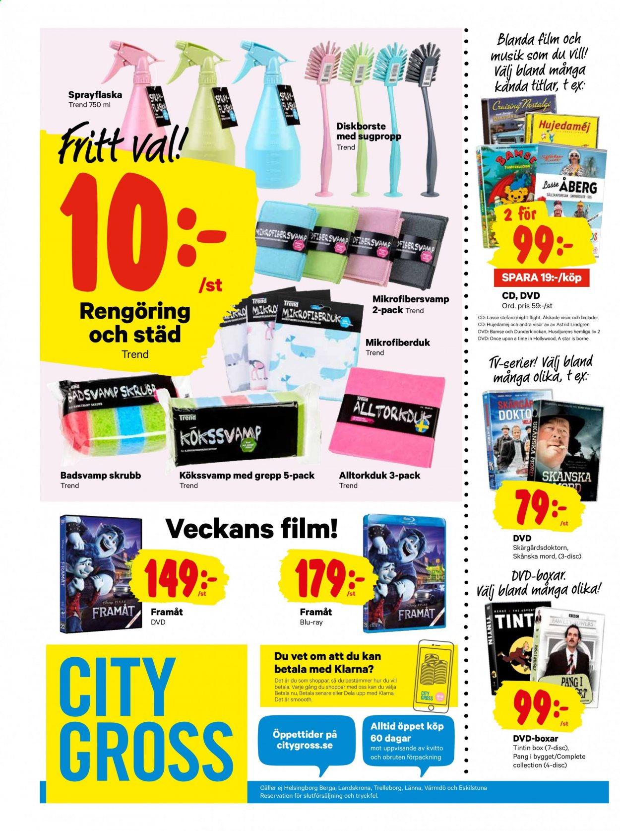 City Gross reklamblad - 6/7 2020 - 12/7 2020. Sida 20.