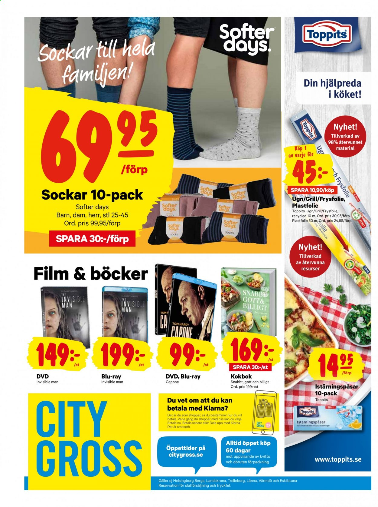 City Gross reklamblad - 3/8 2020 - 9/8 2020. Sida 20.