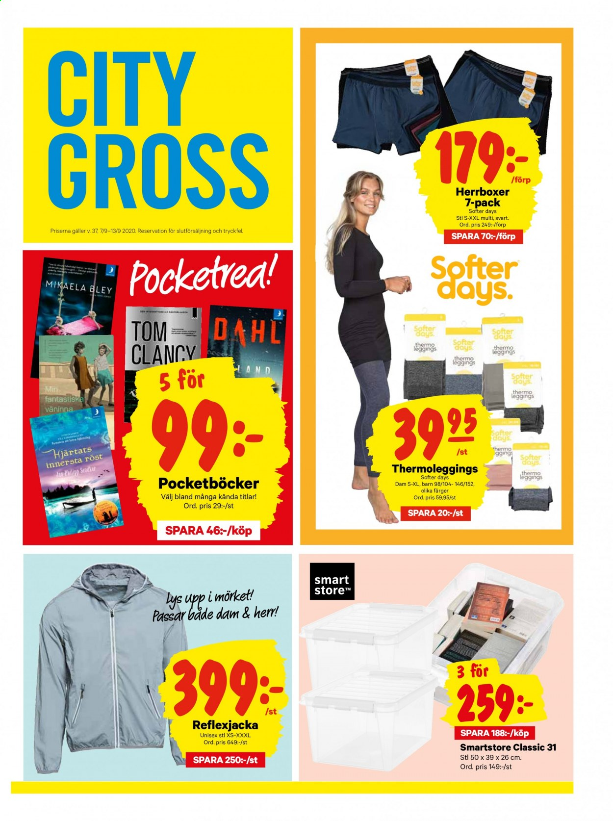 City Gross reklamblad - 7/9 2020 - 13/9 2020. Sida 17.