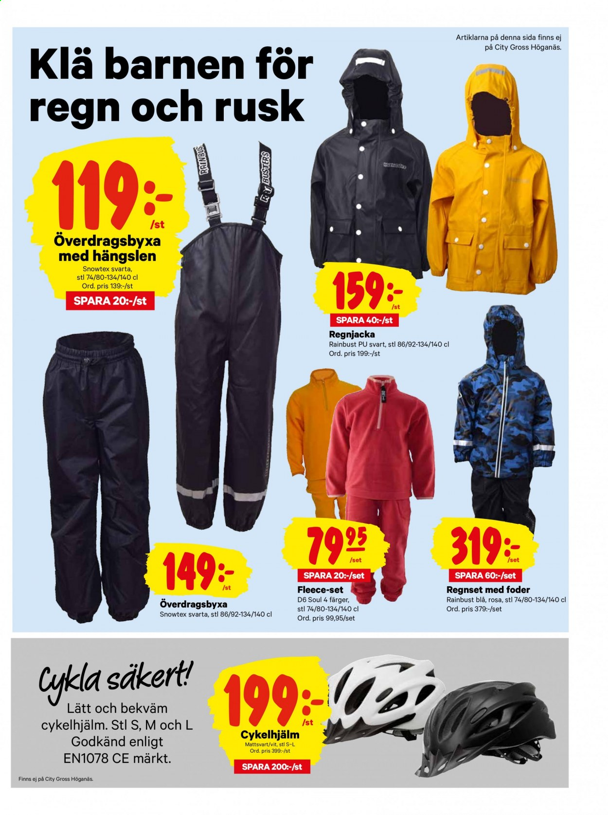 City Gross reklamblad - 7/9 2020 - 13/9 2020. Sida 19.