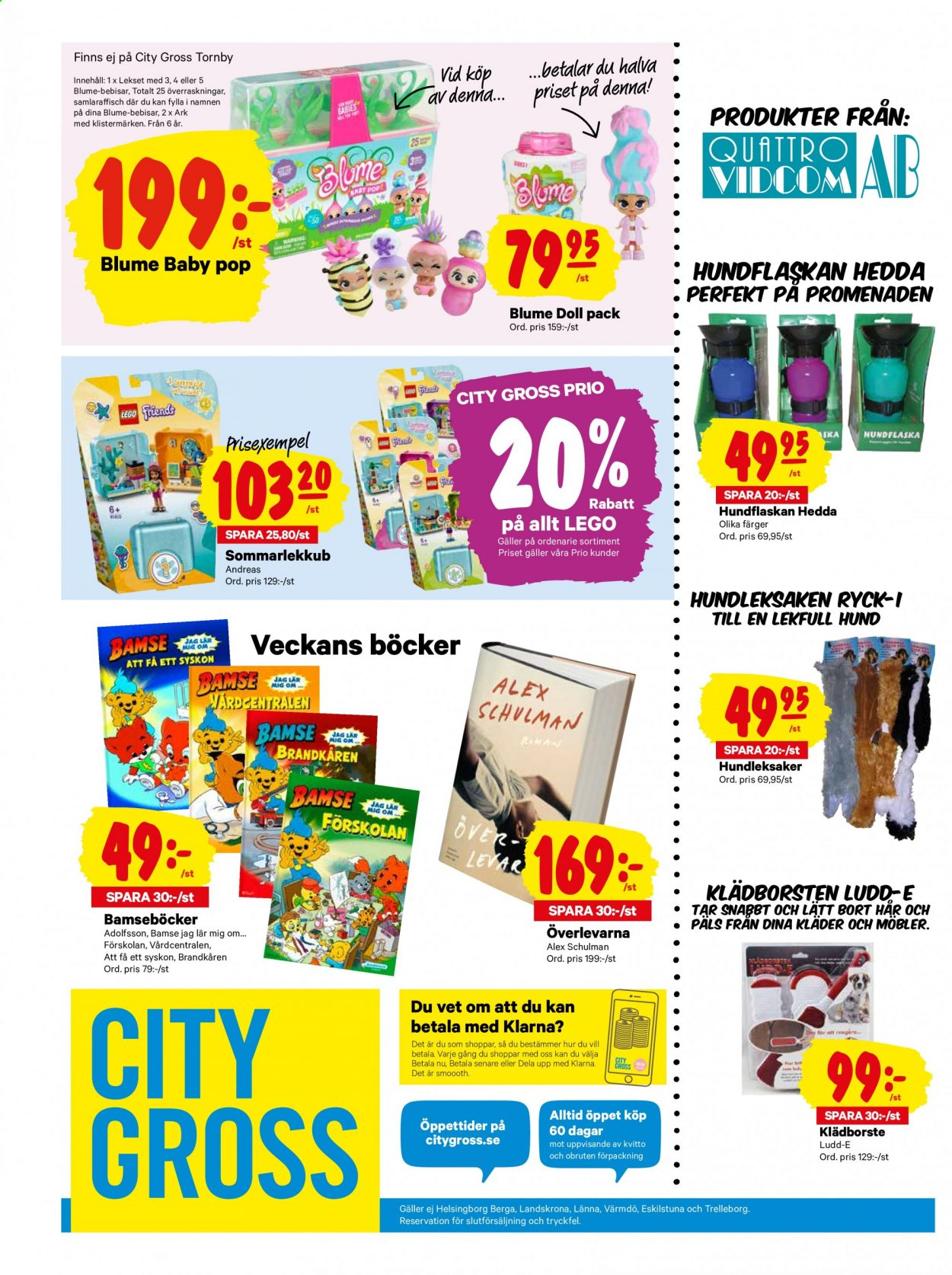 City Gross reklamblad - 7/9 2020 - 13/9 2020. Sida 20.