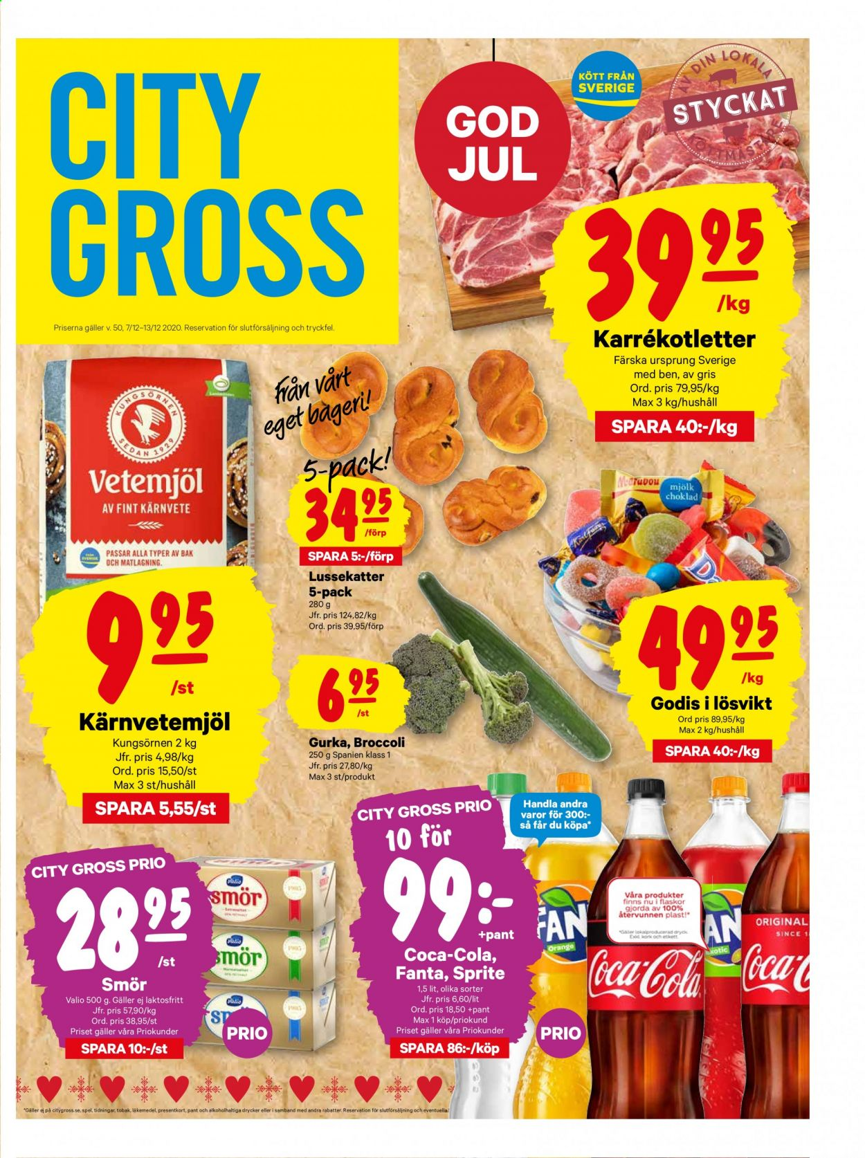 City Gross reklamblad - 7/12 2020 - 13/12 2020. Sida 1.