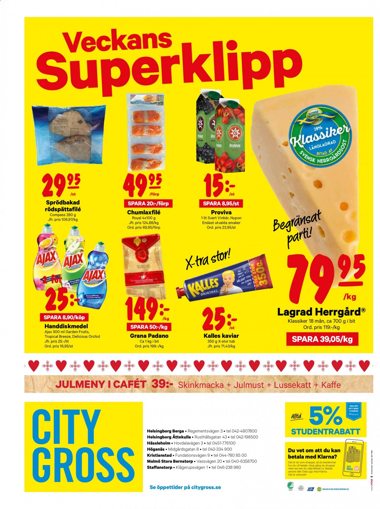 City Gross reklamblad - 7/12 2020 - 13/12 2020. Sida 16.