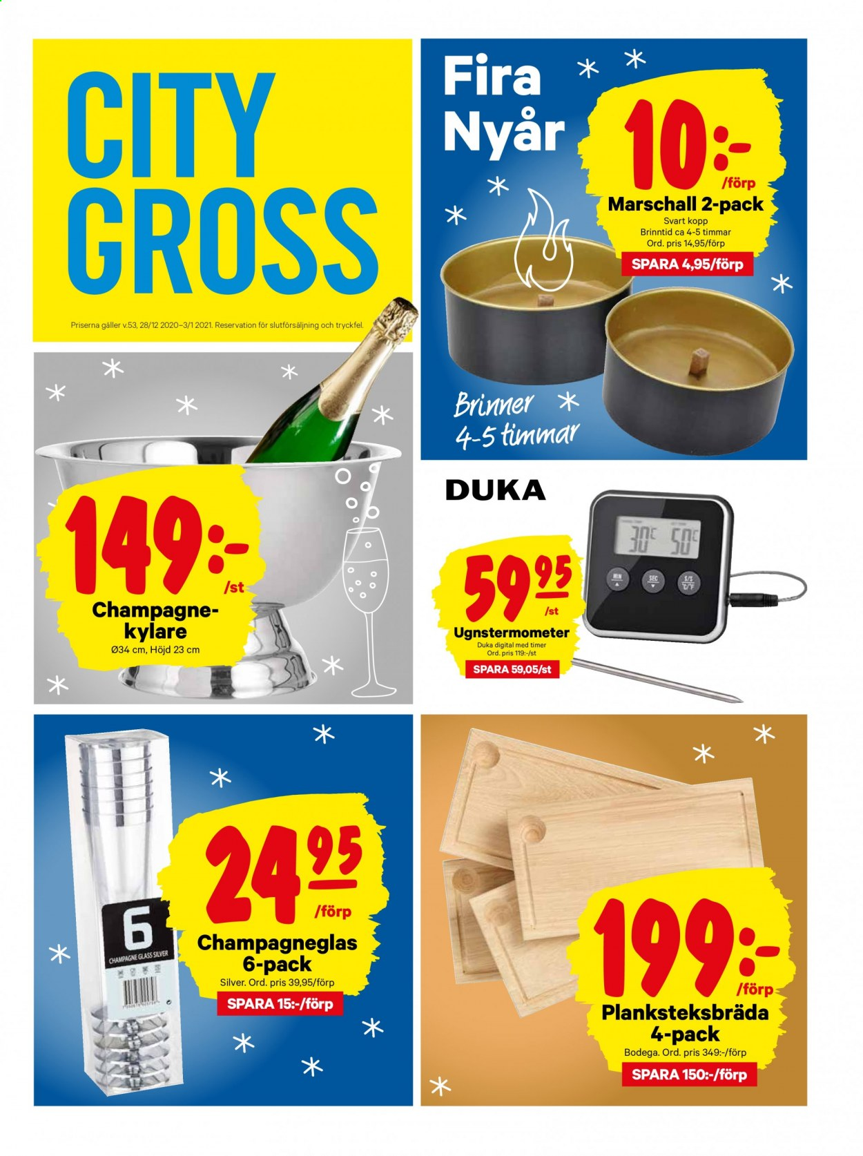 City Gross reklamblad - 29/12 2020 - 3/1 2021. Sida 17.