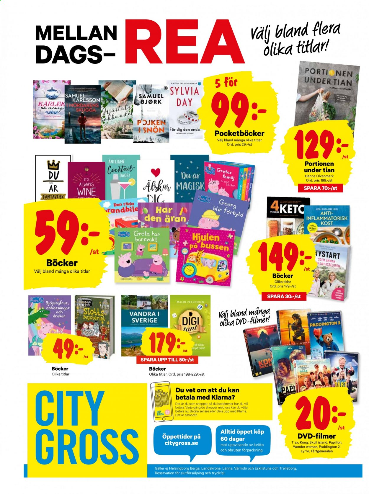 City Gross reklamblad - 29/12 2020 - 3/1 2021. Sida 20.