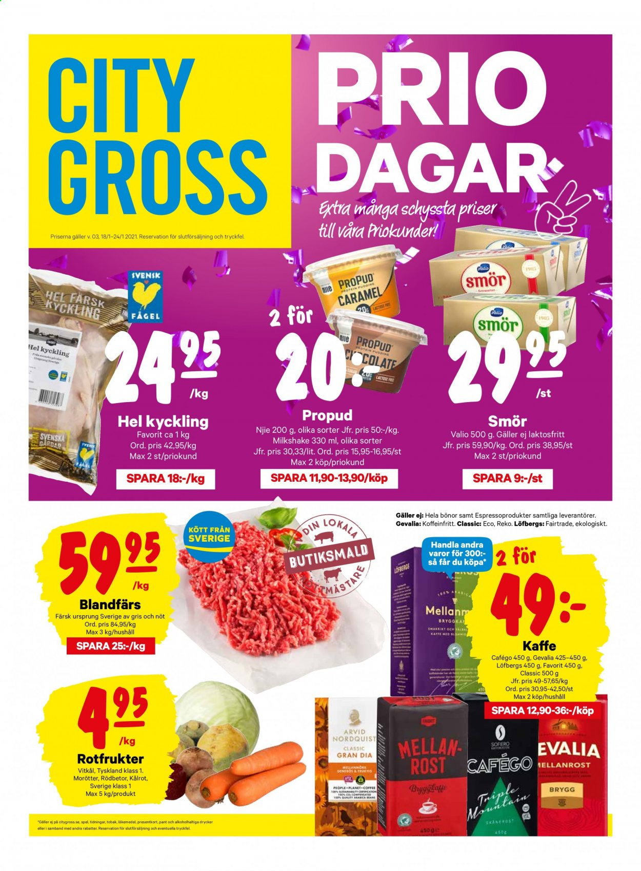 City Gross reklamblad - 25/1 2021 - 31/1 2021. Sida 1.