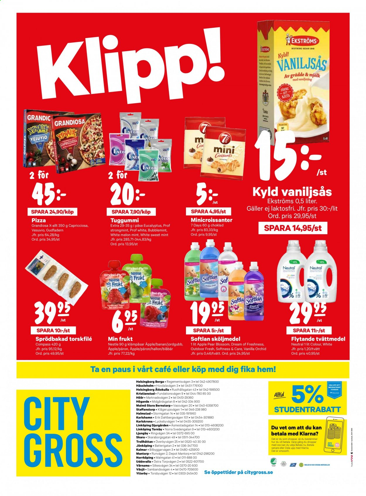 City Gross reklamblad - 25/1 2021 - 31/1 2021. Sida 16.