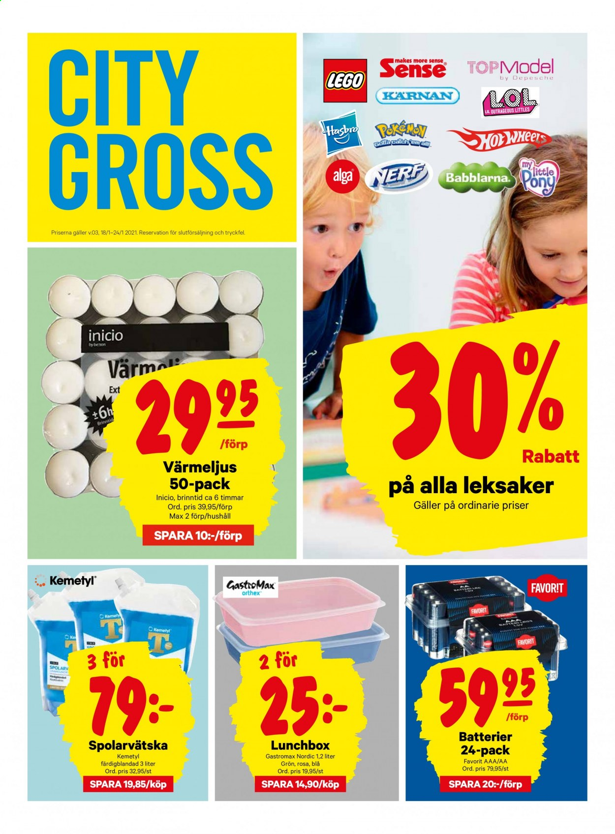 City Gross reklamblad - 25/1 2021 - 31/1 2021. Sida 17.