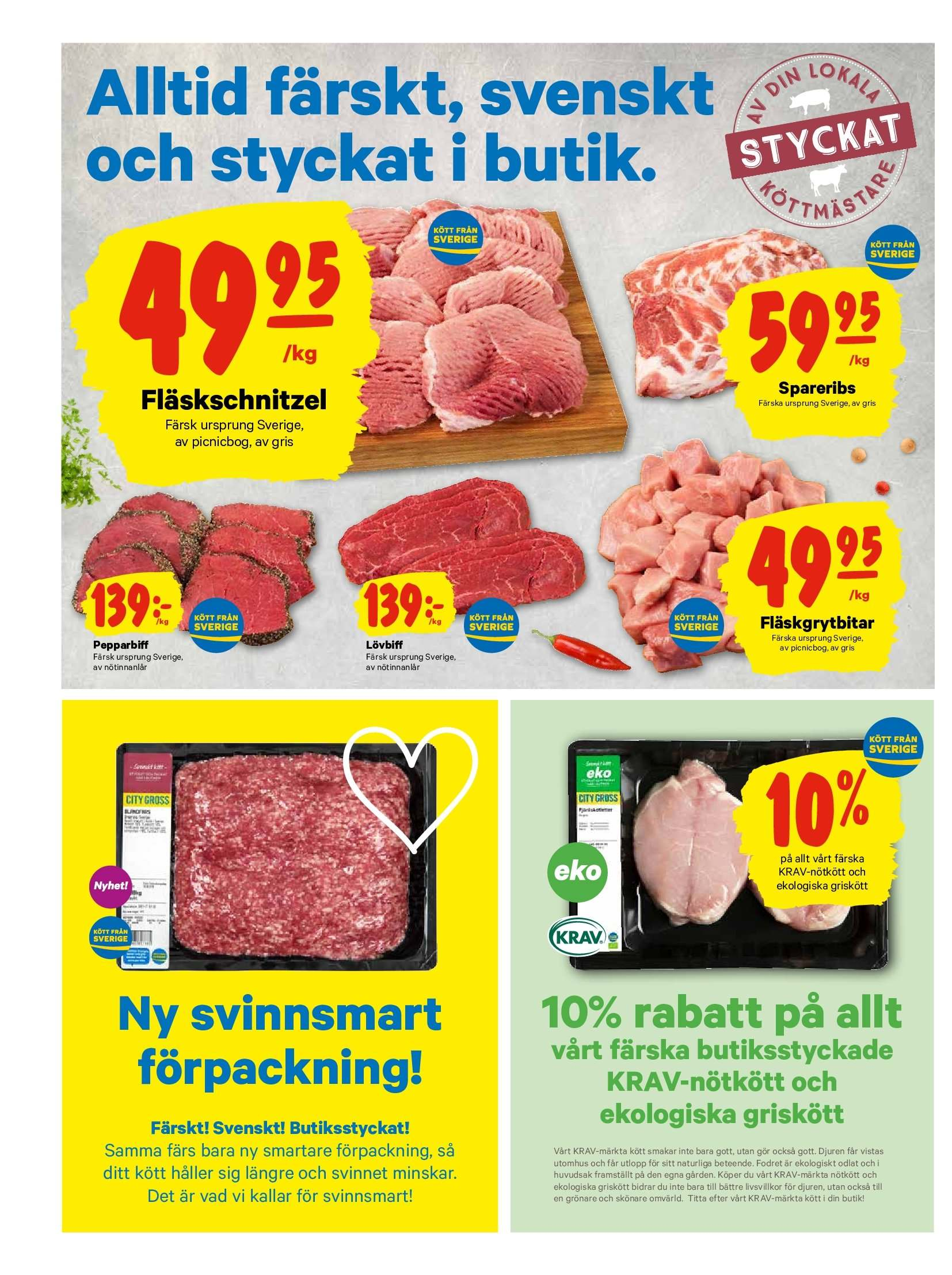City Gross reklamblad - 17/9 2018 - 23/9 2018. Sida 2.