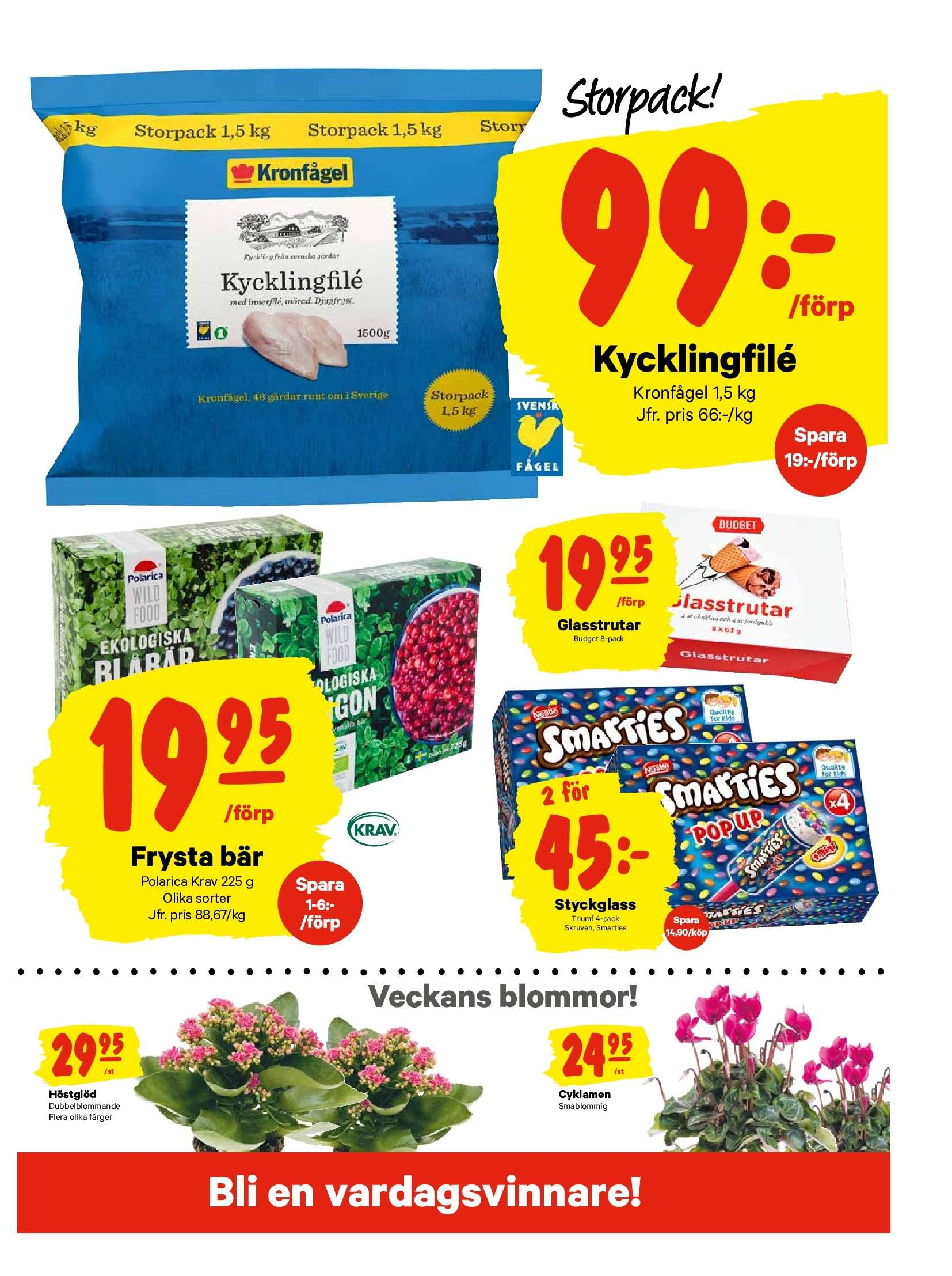 City Gross reklamblad - 17/9 2018 - 23/9 2018. Sida 11.