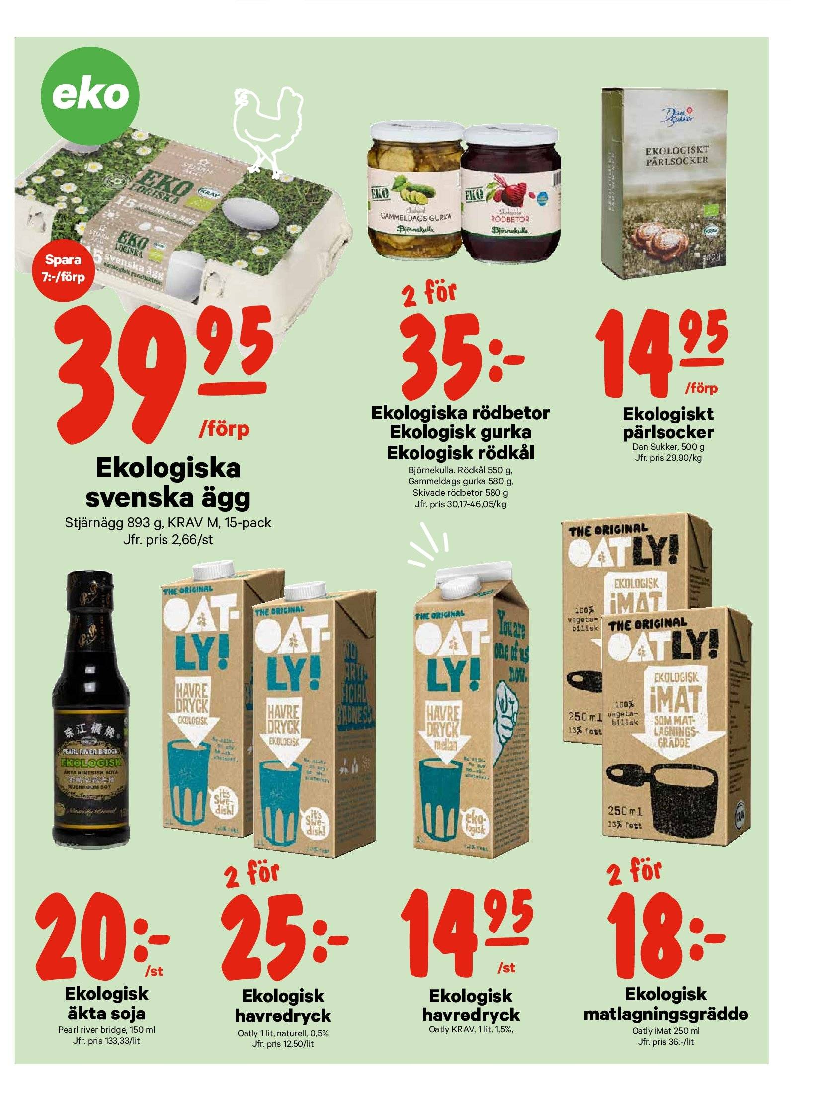 City Gross reklamblad - 1/10 2018 - 7/10 2018. Sida 7.