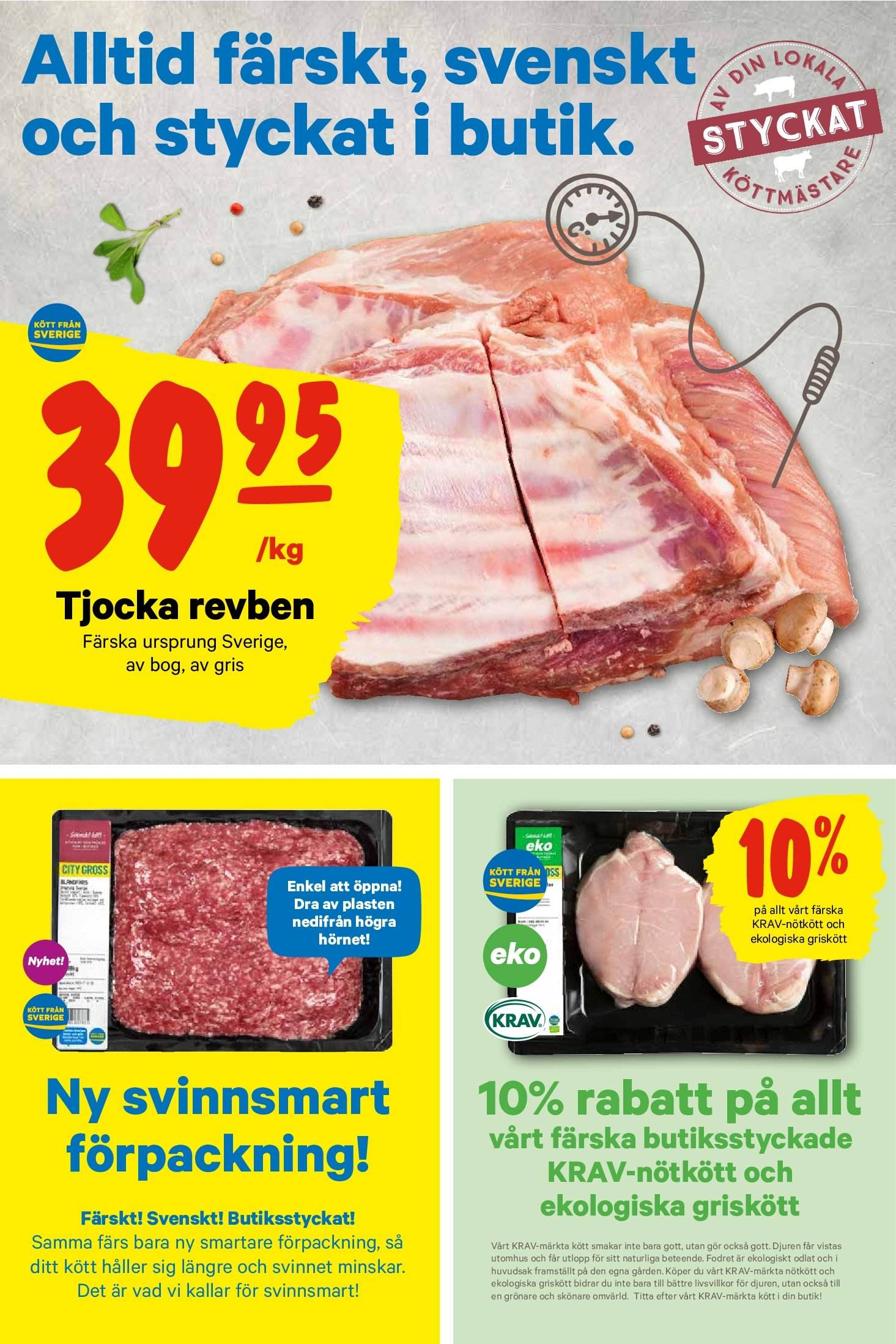 City Gross reklamblad - 15/10 2018 - 21/10 2018. Sida 2.