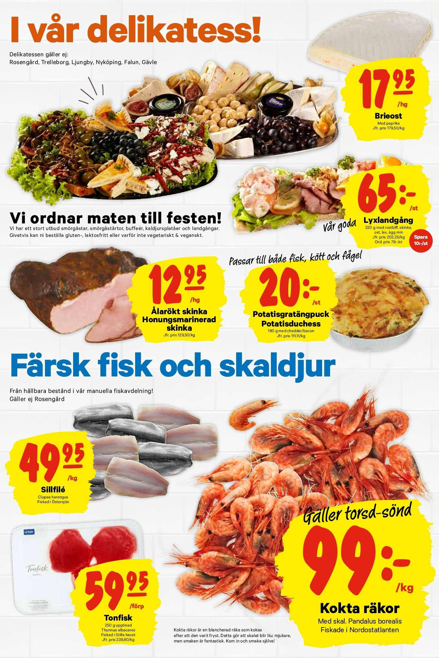 City Gross reklamblad - 15/10 2018 - 21/10 2018. Sida 8.