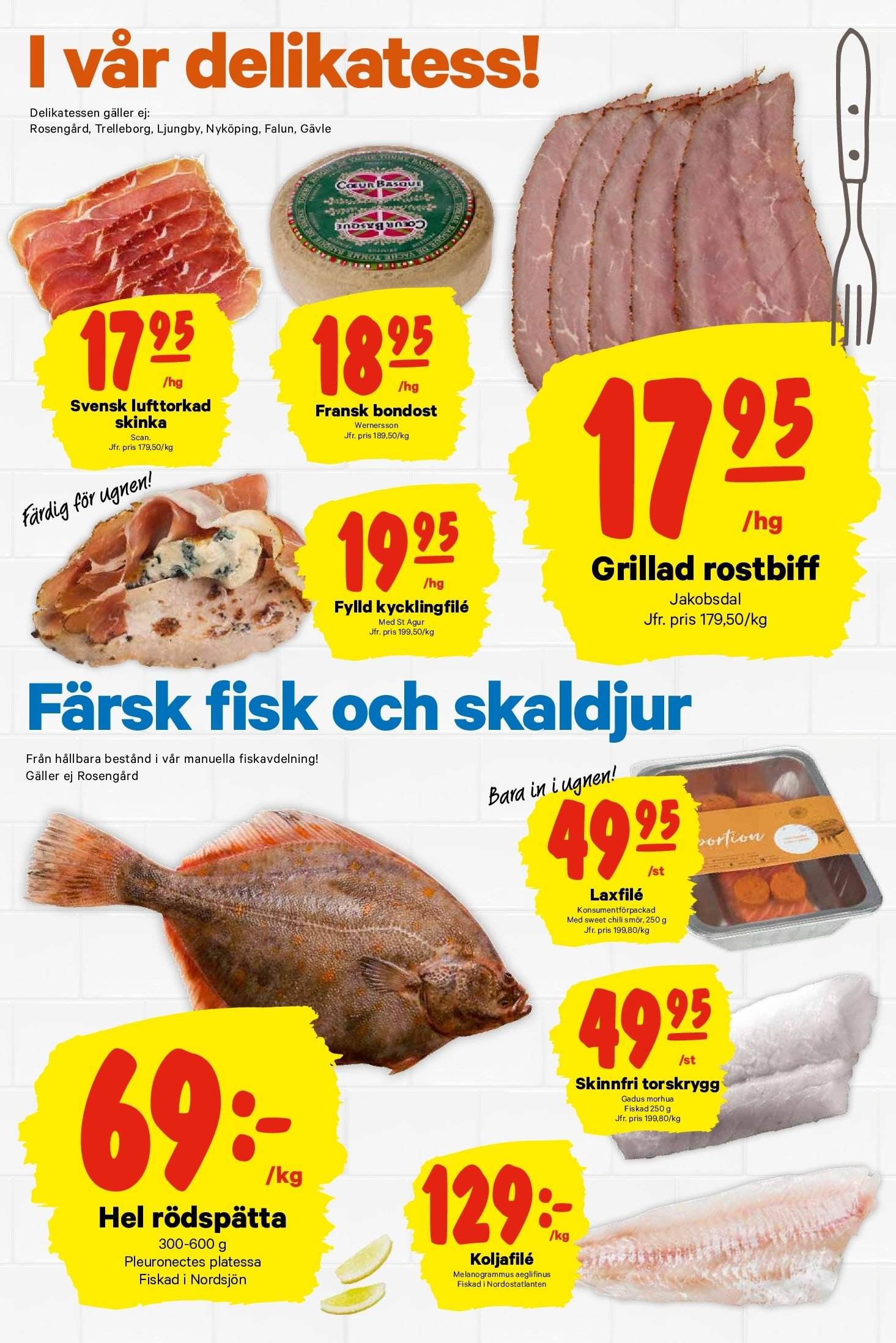 City Gross reklamblad - 22/10 2018 - 28/10 2018. Sida 3.
