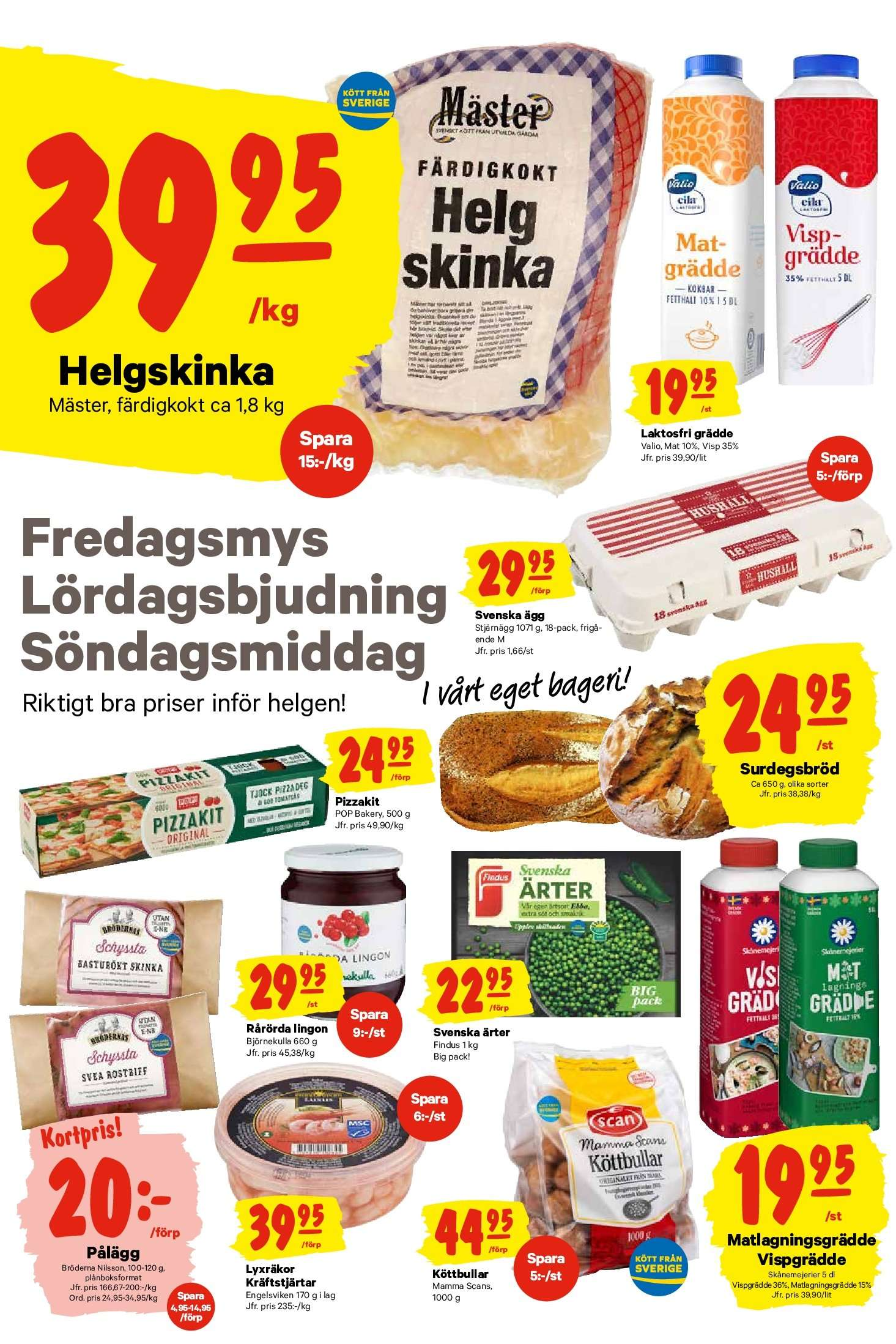 City Gross reklamblad - 22/10 2018 - 28/10 2018. Sida 6.