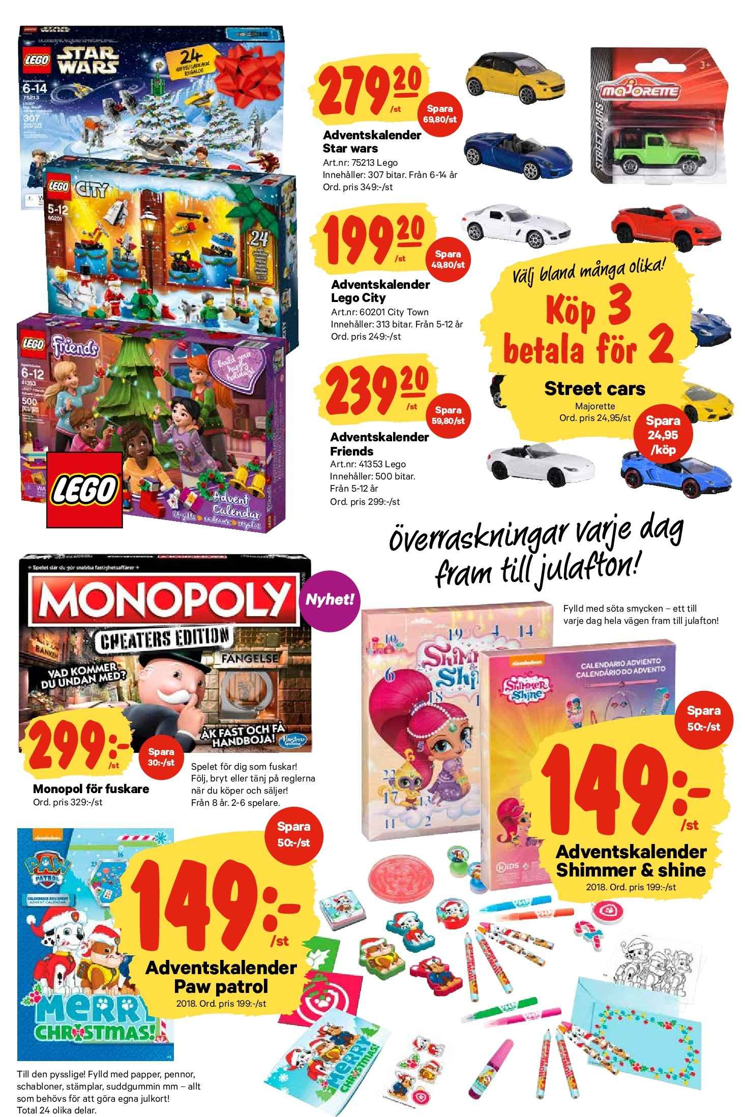 City Gross reklamblad - 22/10 2018 - 28/10 2018. Sida 23.