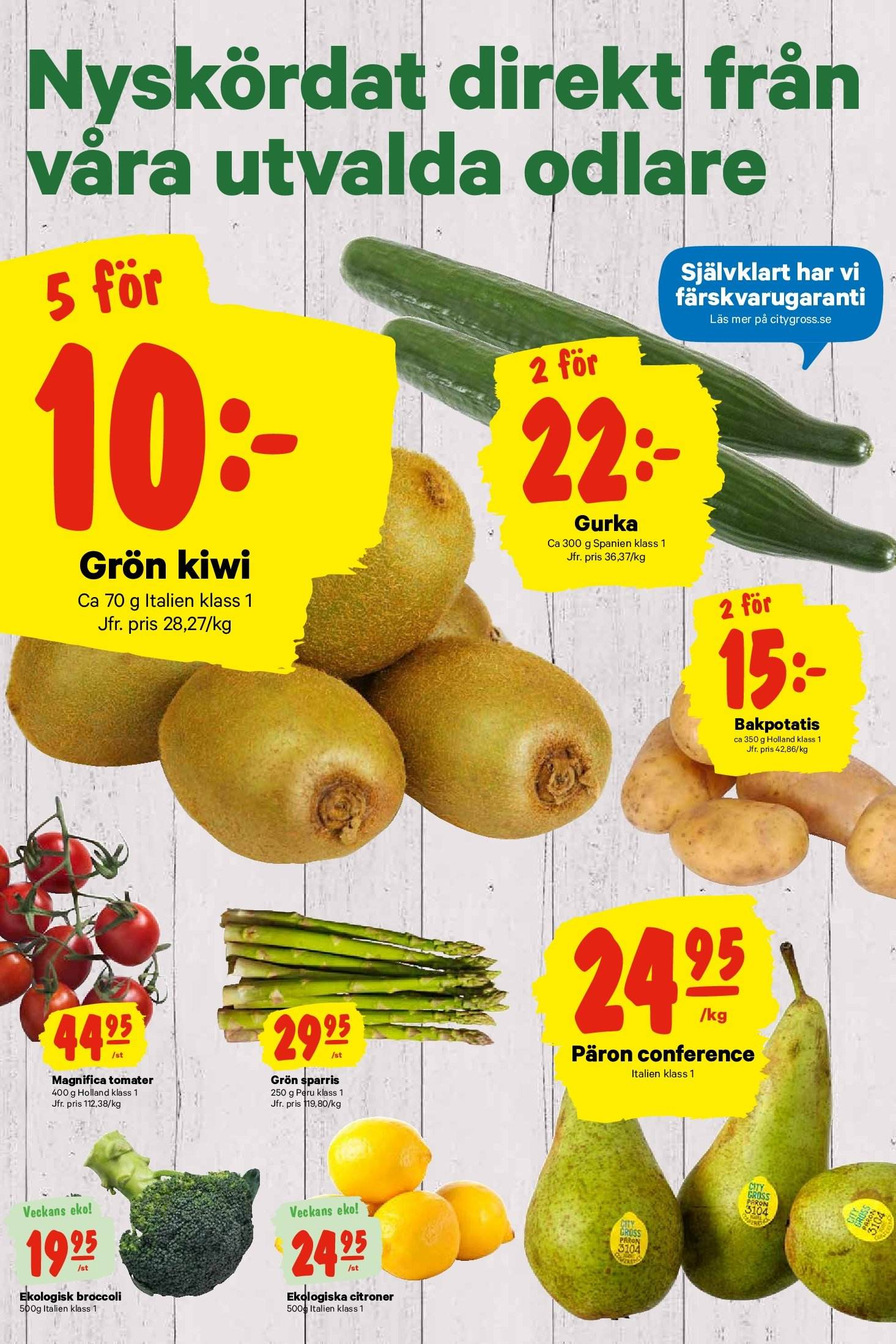 City Gross reklamblad - 19/11 2018 - 25/11 2018. Sida 6.