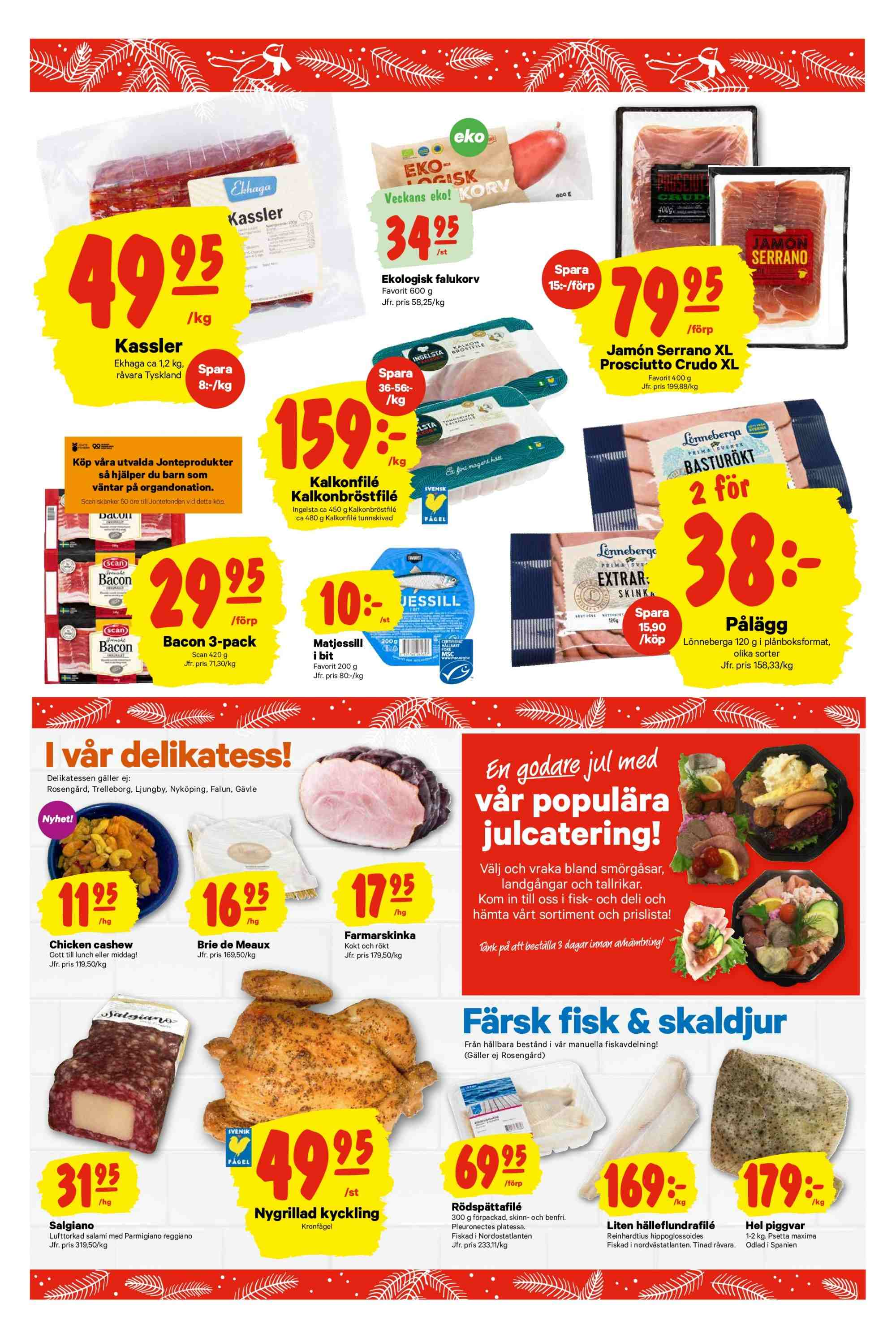 City Gross reklamblad - 26/11 2018 - 2/12 2018. Sida 3.