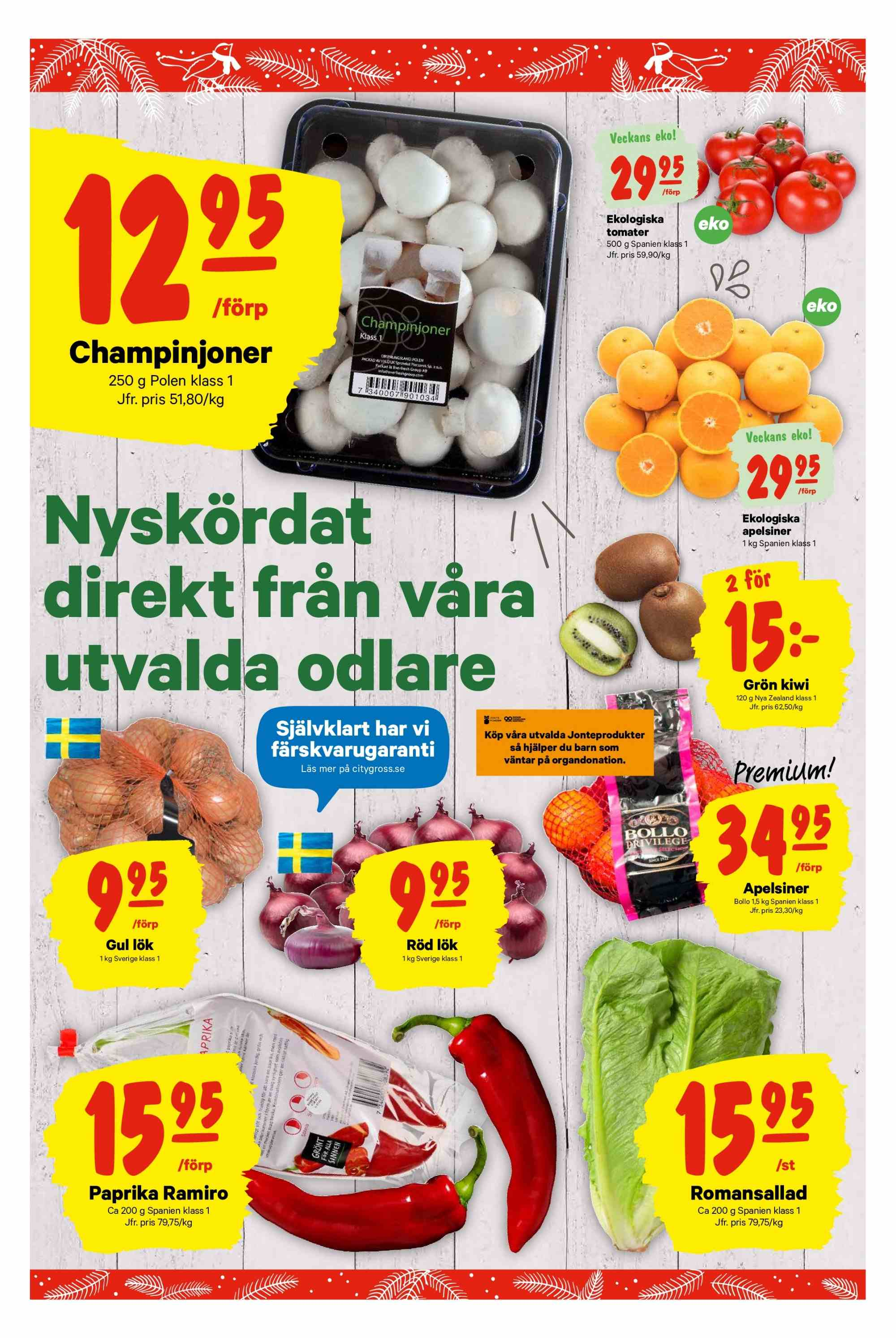 City Gross reklamblad - 26/11 2018 - 2/12 2018. Sida 4.