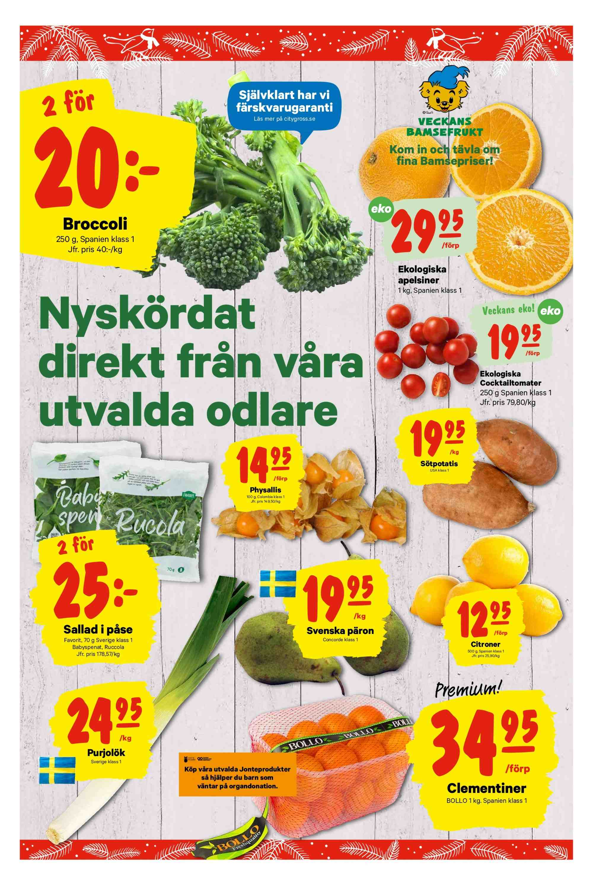 City Gross reklamblad - 3/12 2018 - 9/12 2018. Sida 6.