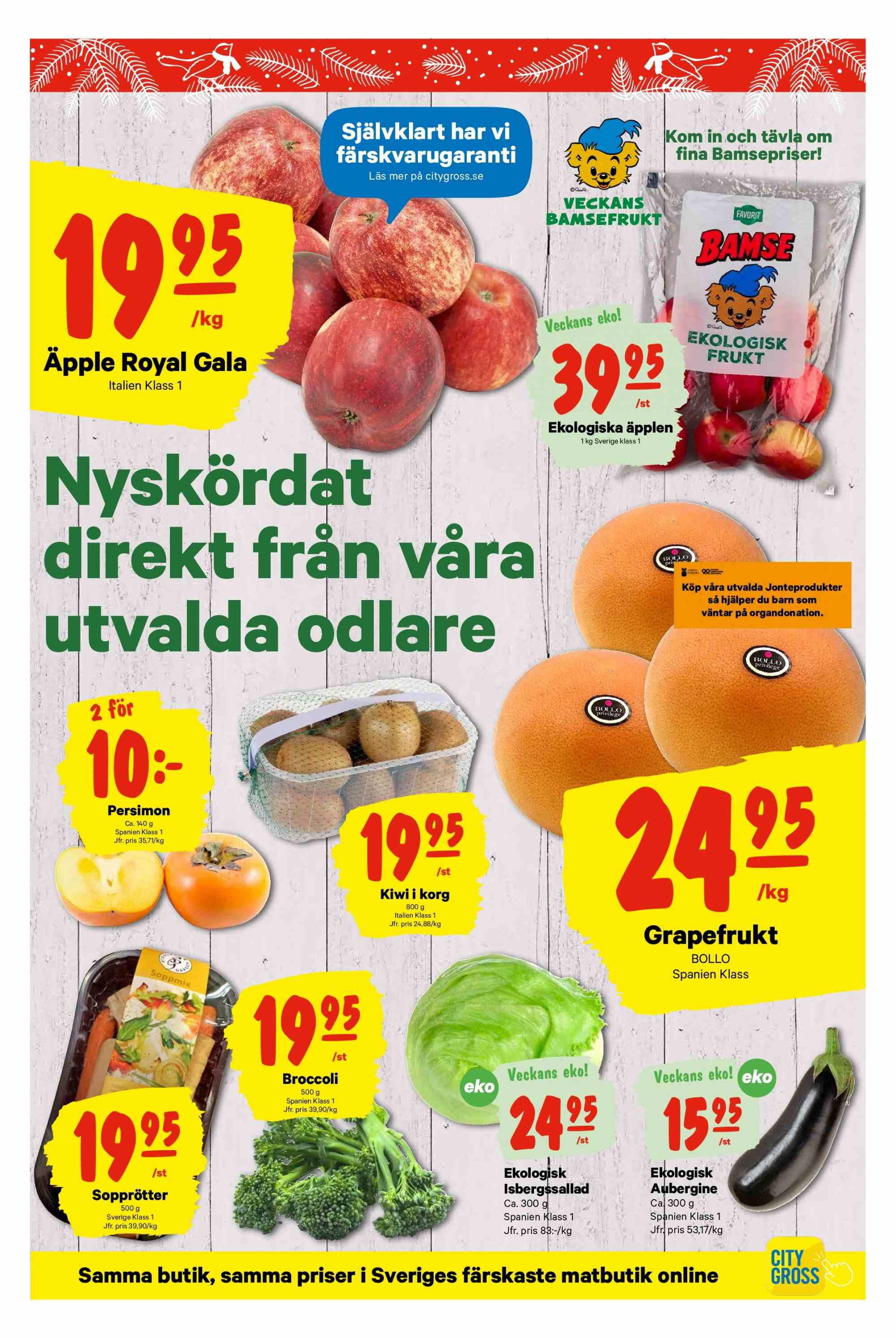 City Gross reklamblad - 10/12 2018 - 16/12 2018. Sida 8.