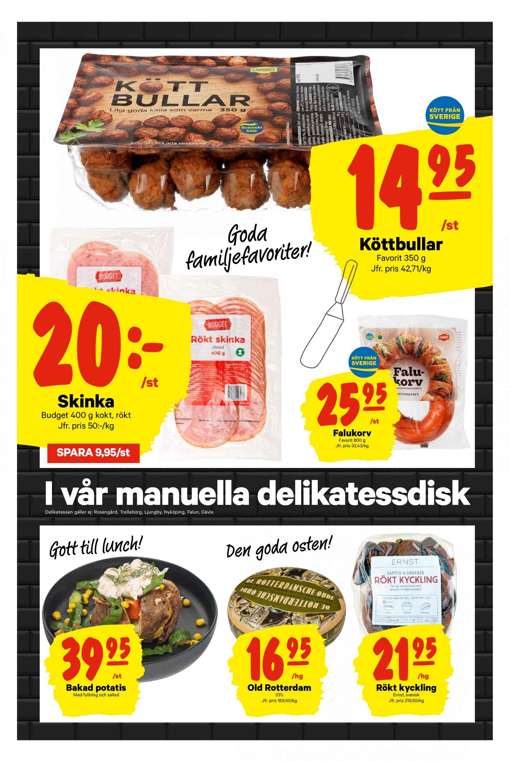 City Gross reklamblad - 28/1 2019 - 3/2 2019. Sida 3.