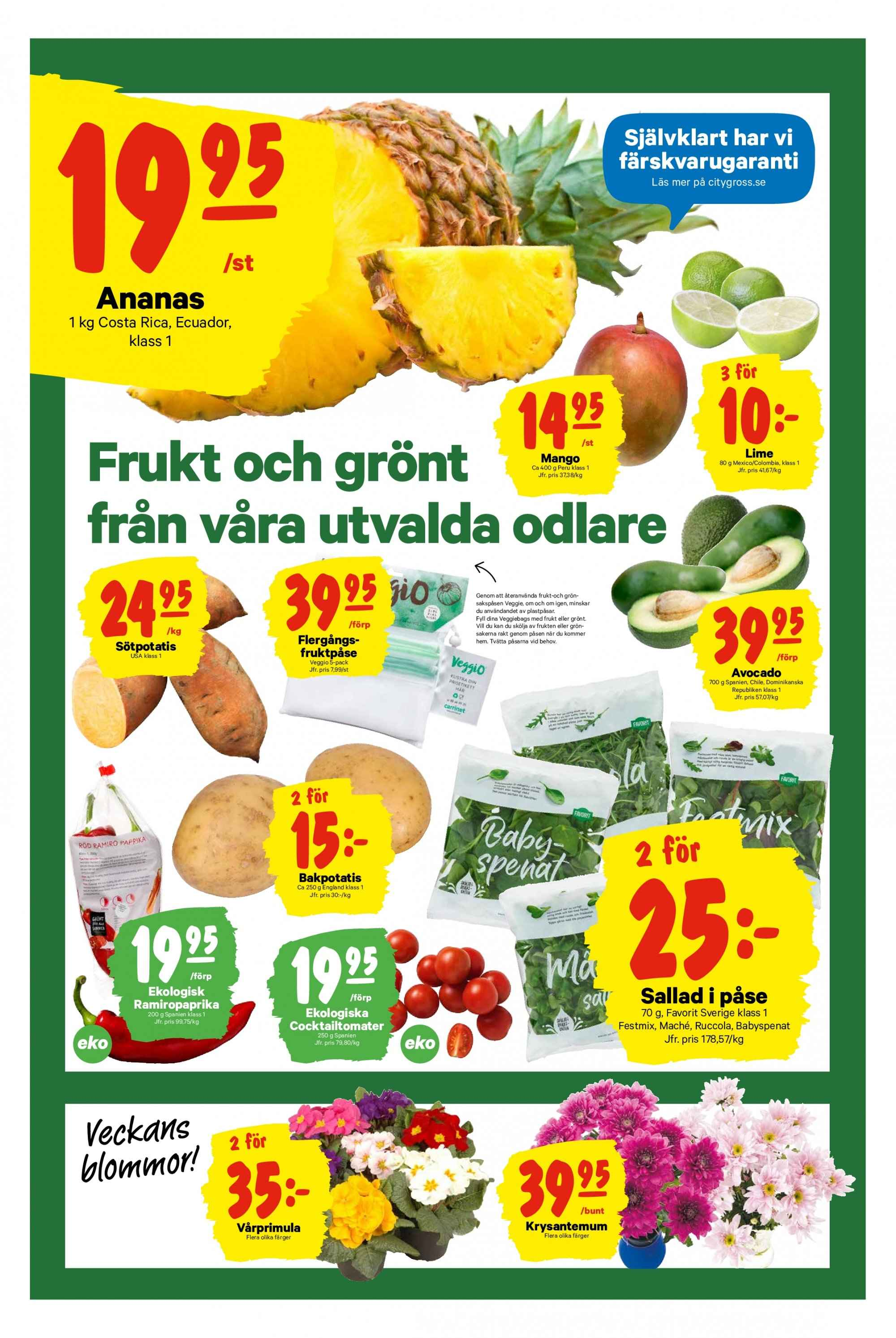 City Gross reklamblad - 28/1 2019 - 3/2 2019. Sida 4.