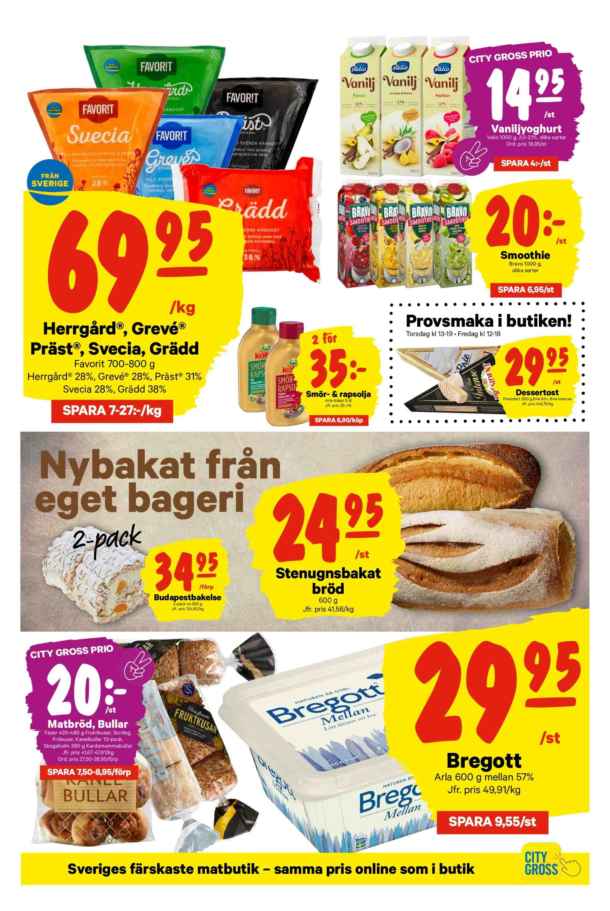 City Gross reklamblad - 28/1 2019 - 3/2 2019. Sida 5.