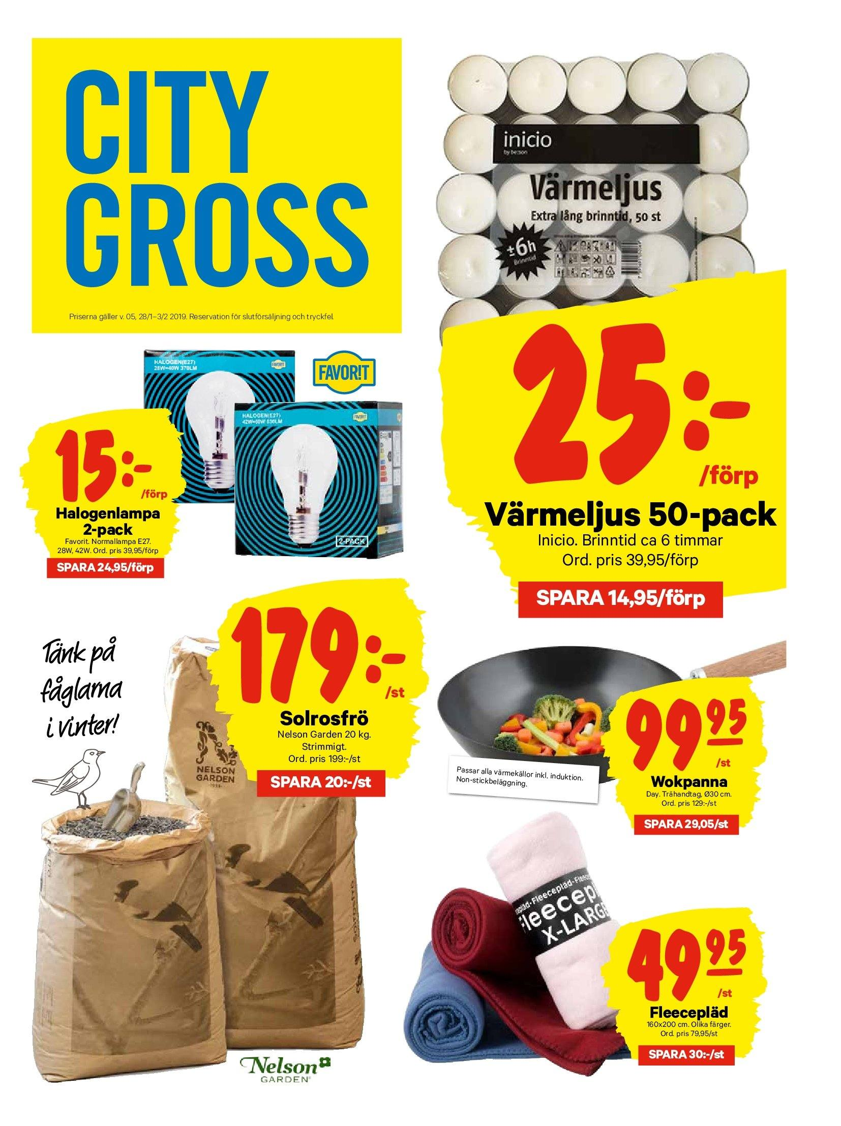 City Gross reklamblad - 28/1 2019 - 3/2 2019. Sida 13.