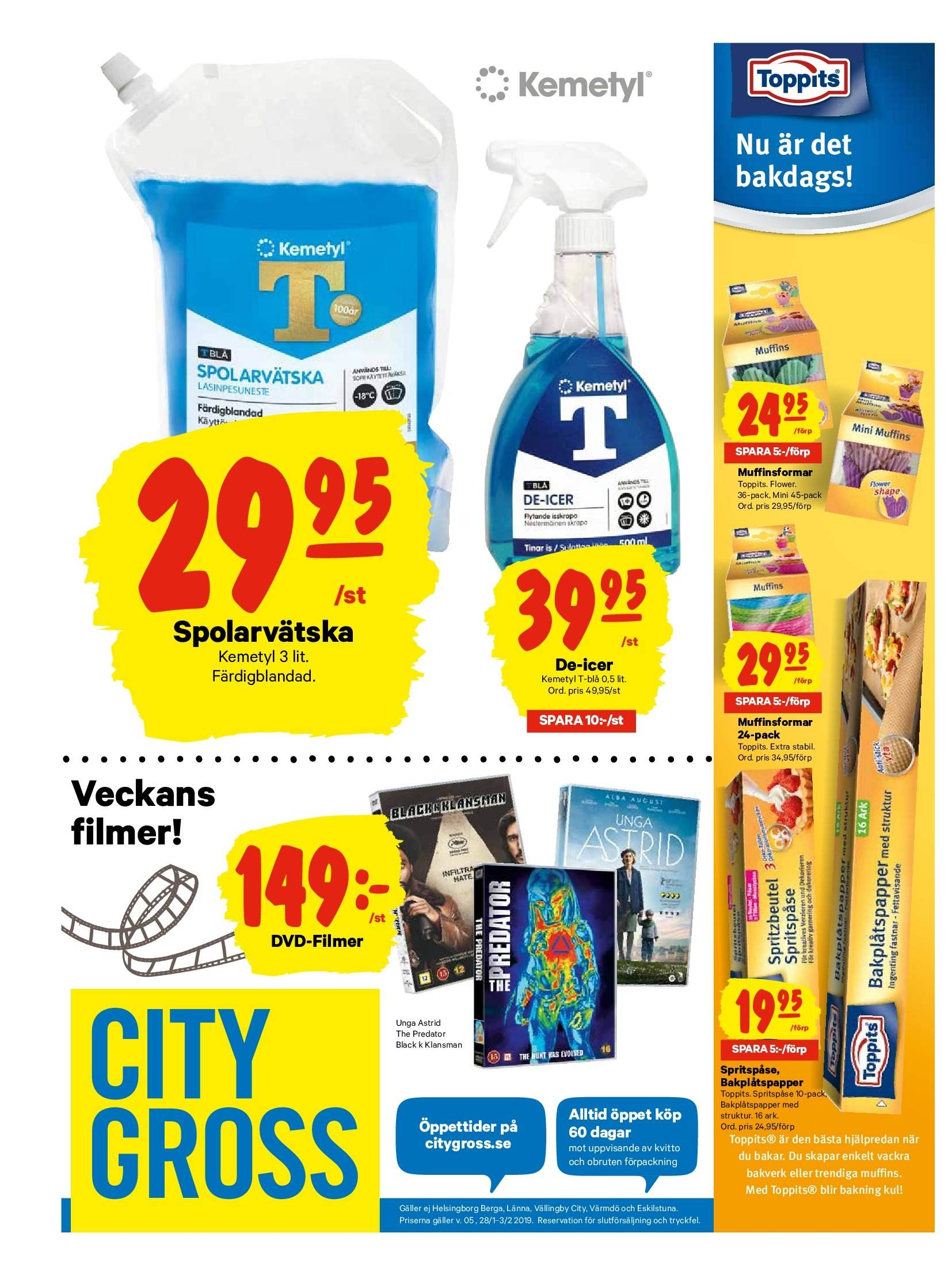 City Gross reklamblad - 28/1 2019 - 3/2 2019. Sida 16.