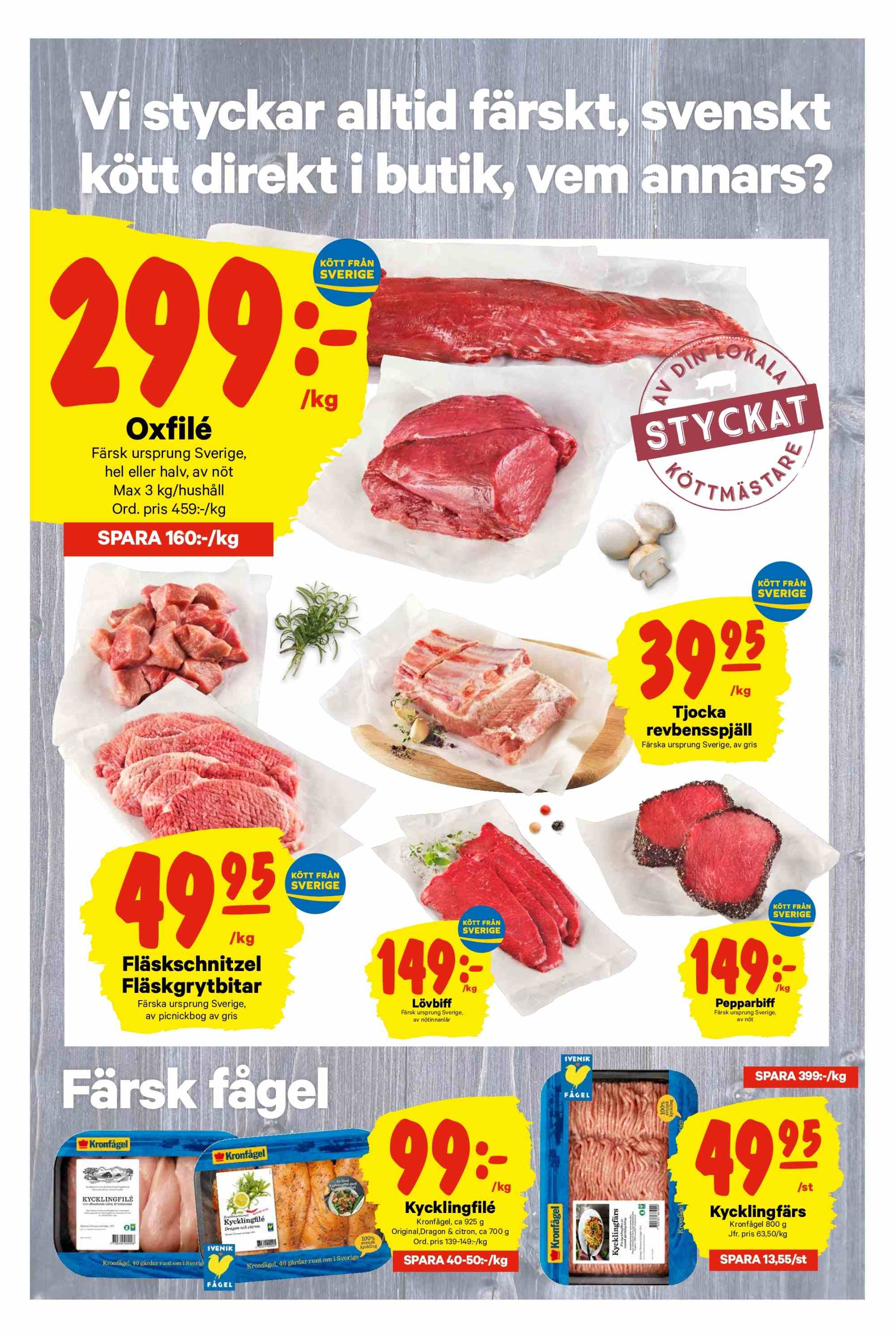 City Gross reklamblad - 25/2 2019 - 3/3 2019. Sida 2.