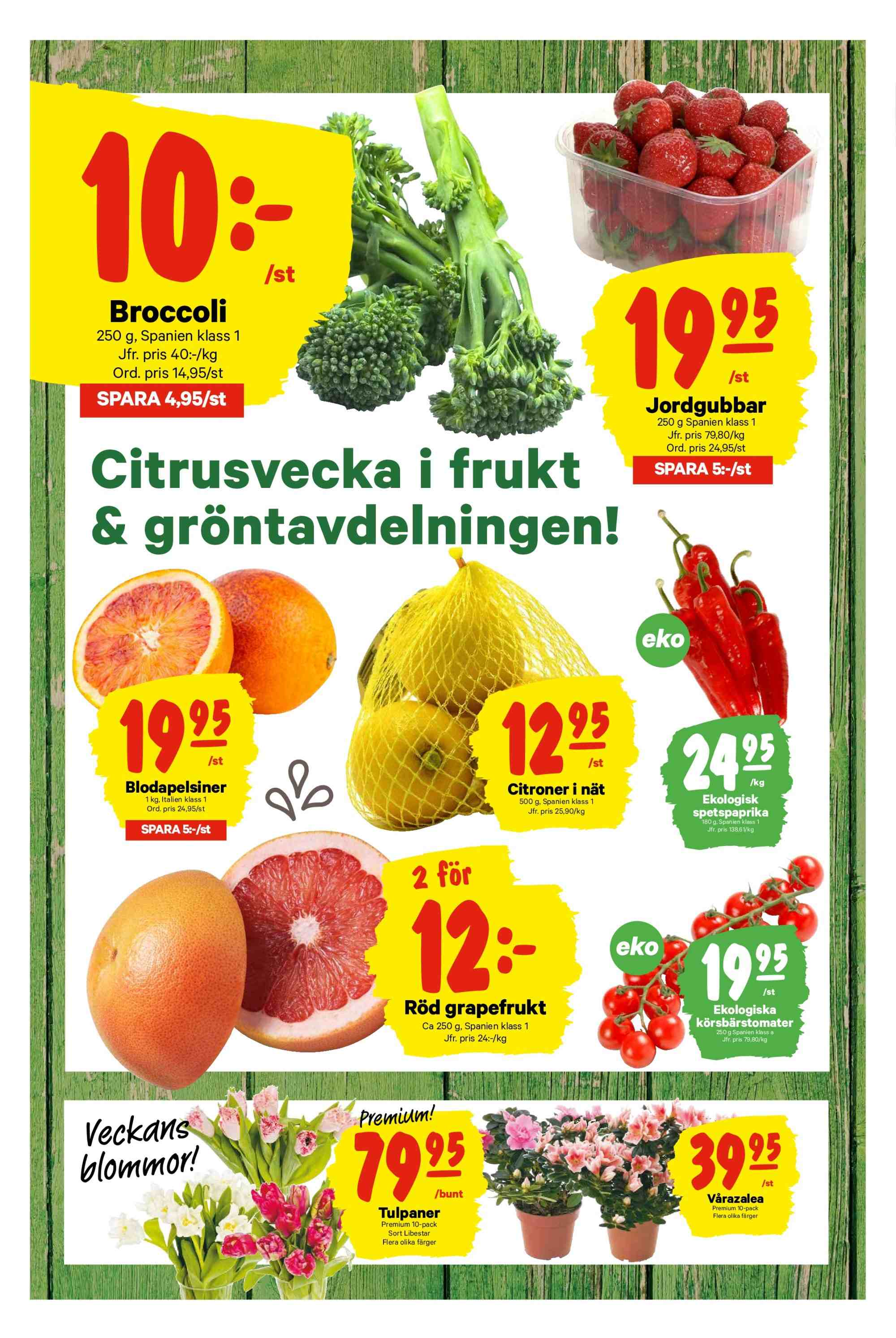 City Gross reklamblad - 25/2 2019 - 3/3 2019. Sida 4.