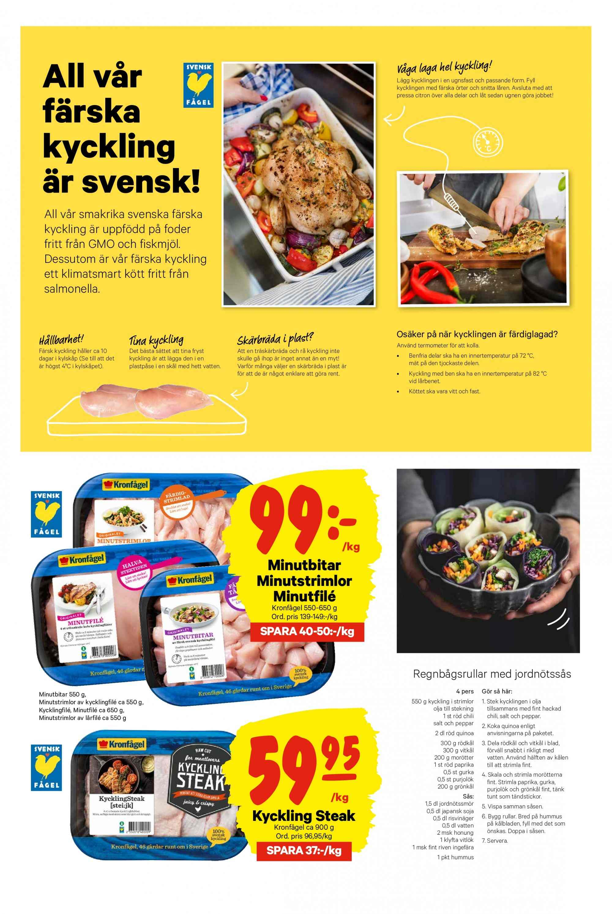 City Gross reklamblad - 11/3 2019 - 17/3 2019. Sida 3.