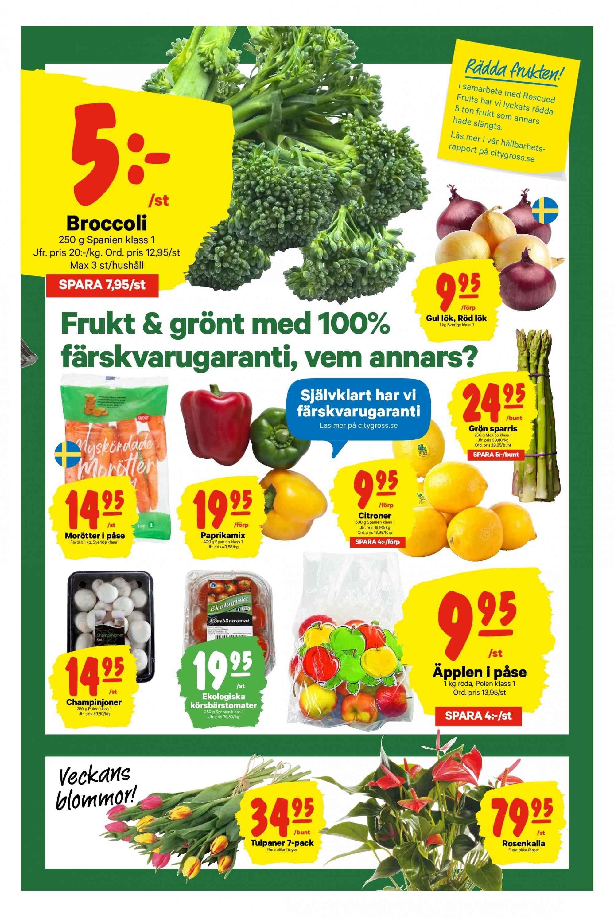 City Gross reklamblad - 11/3 2019 - 17/3 2019. Sida 5.
