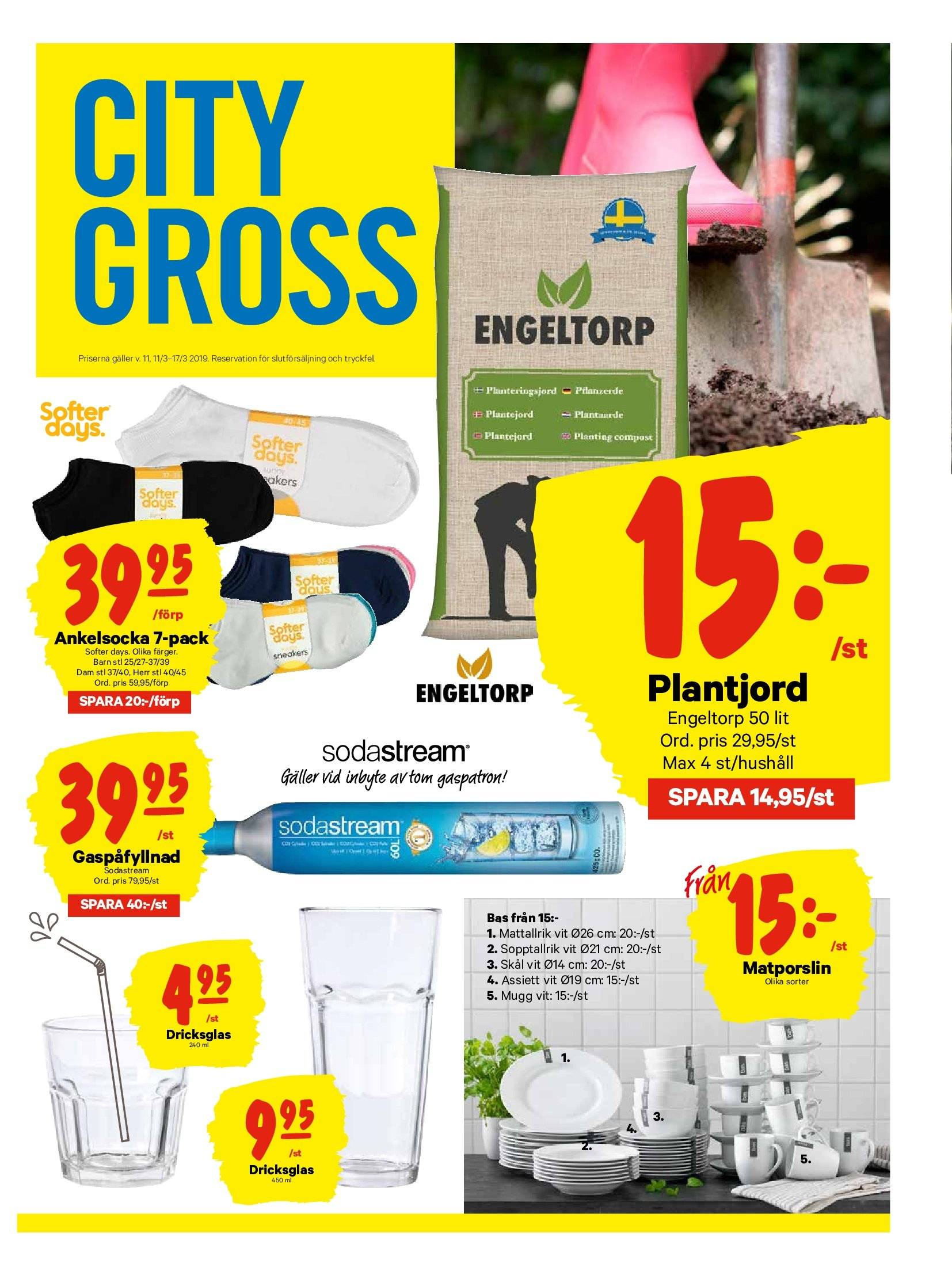 City Gross reklamblad - 11/3 2019 - 17/3 2019. Sida 13.