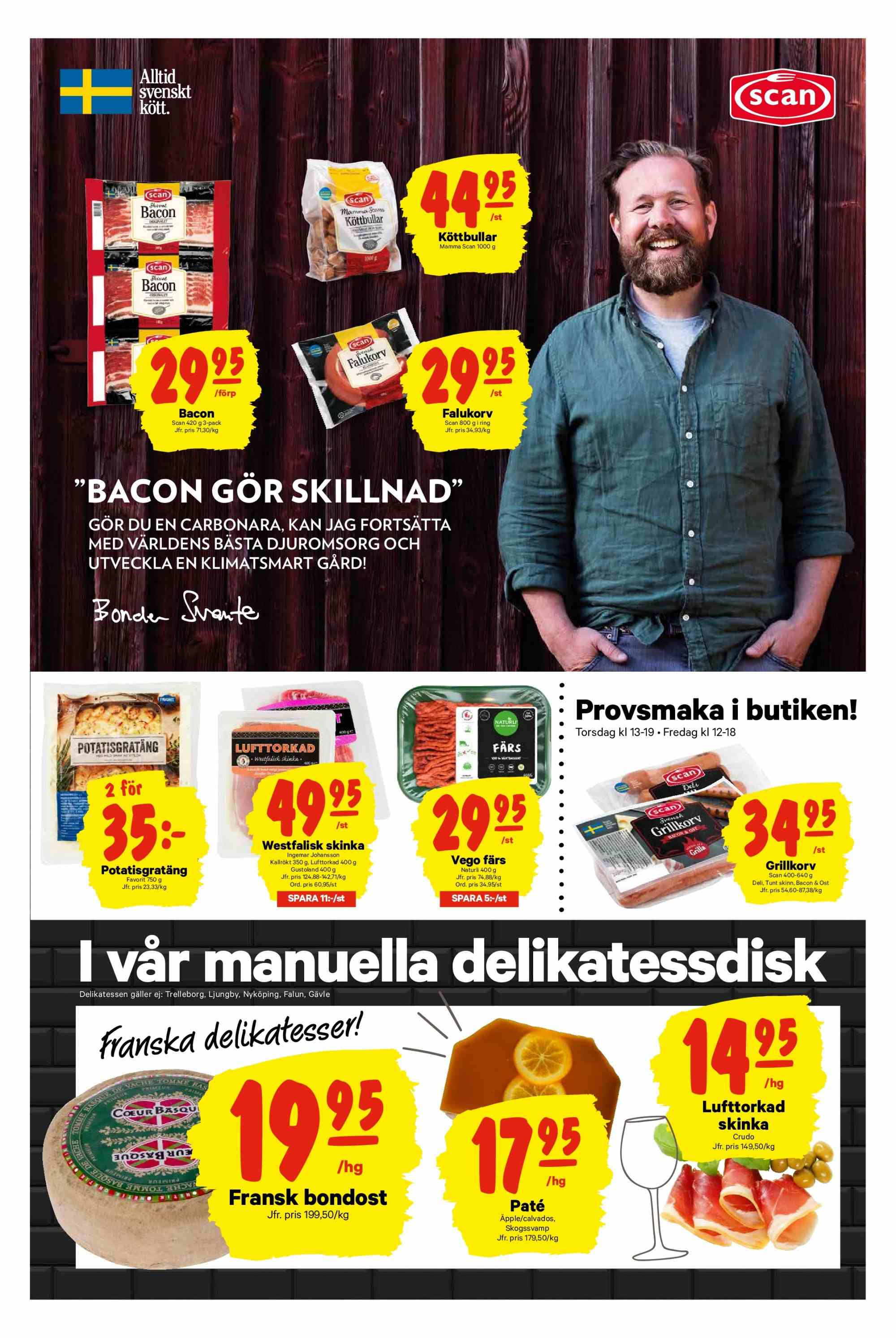 City Gross reklamblad - 25/3 2019 - 31/3 2019. Sida 3.