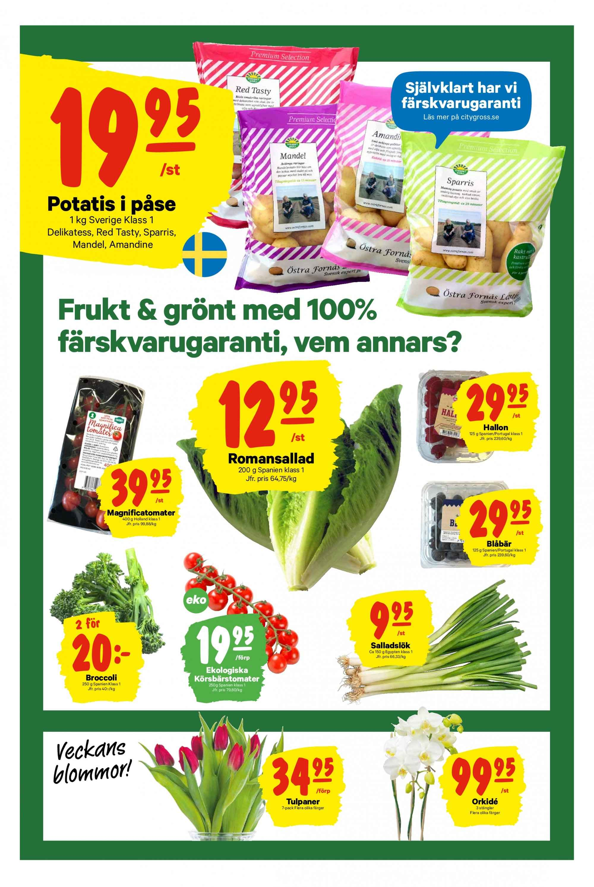 City Gross reklamblad - 25/3 2019 - 31/3 2019. Sida 4.