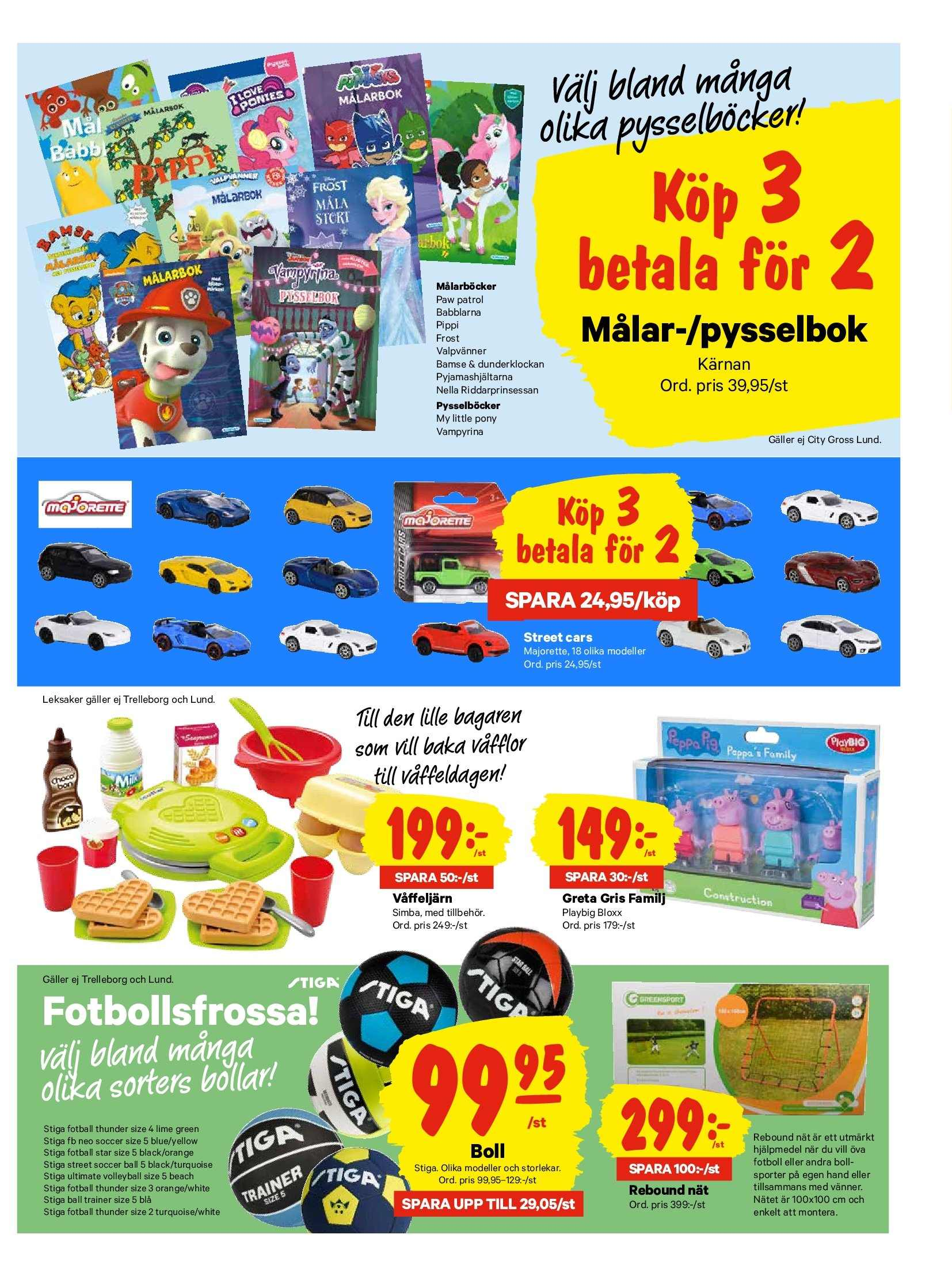 City Gross reklamblad - 25/3 2019 - 31/3 2019. Sida 17.