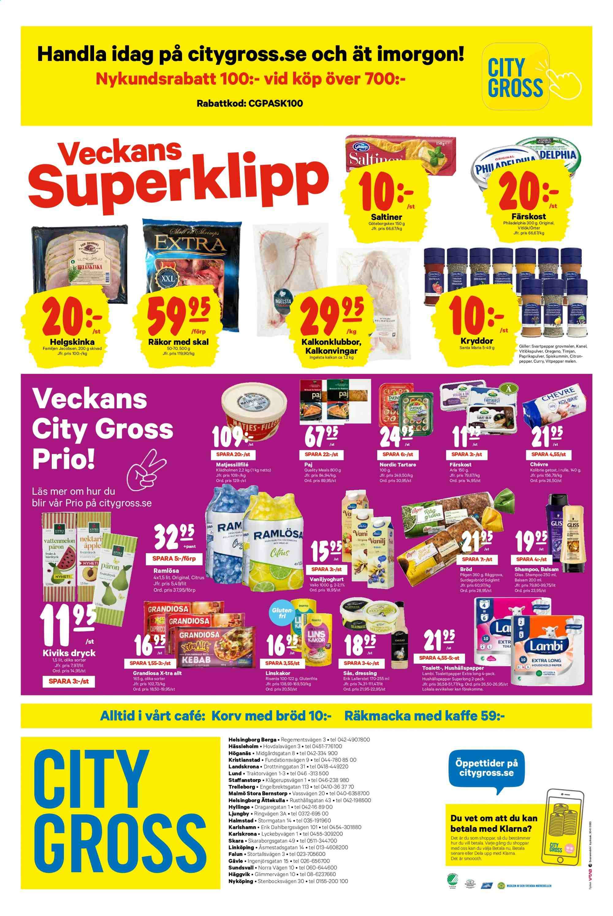 City Gross reklamblad - 15/4 2019 - 22/4 2019. Sida 12.