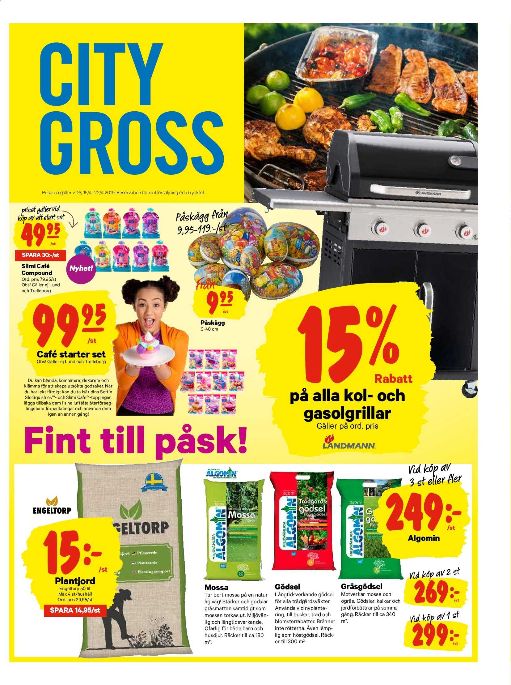City Gross reklamblad - 15/4 2019 - 22/4 2019. Sida 13.