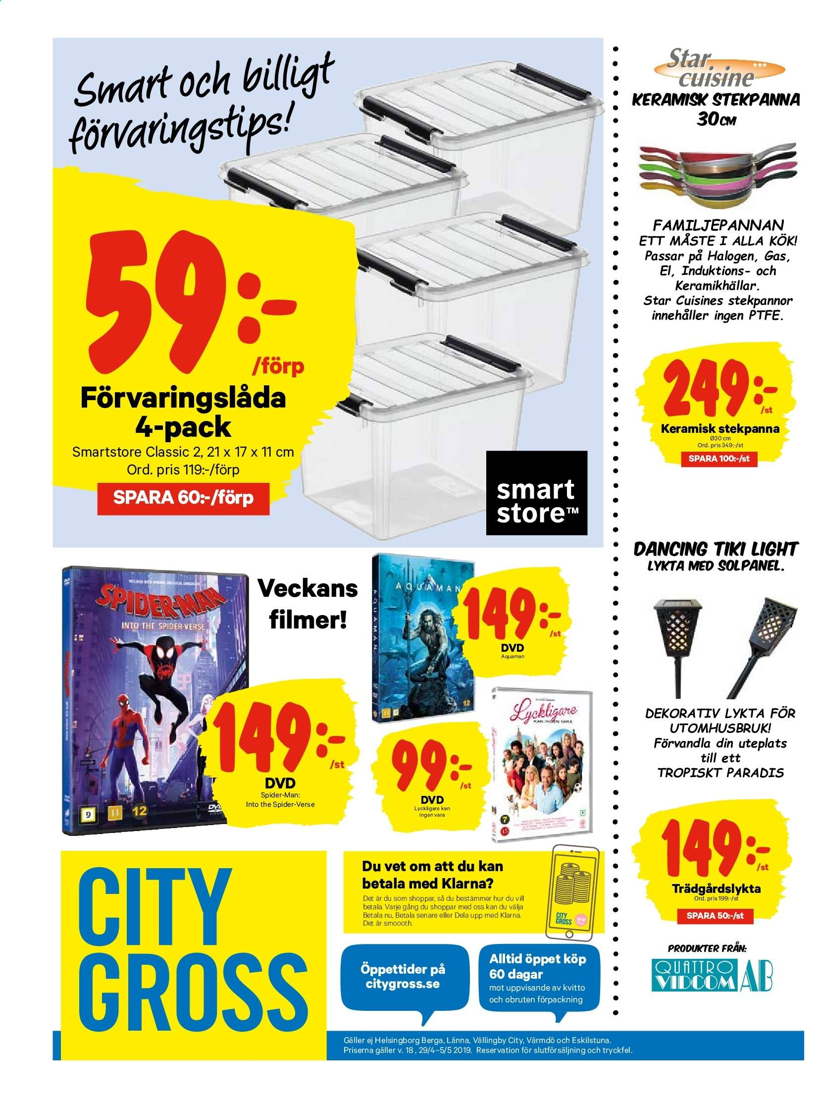 City Gross reklamblad - 29/4 2019 - 5/5 2019. Sida 15.