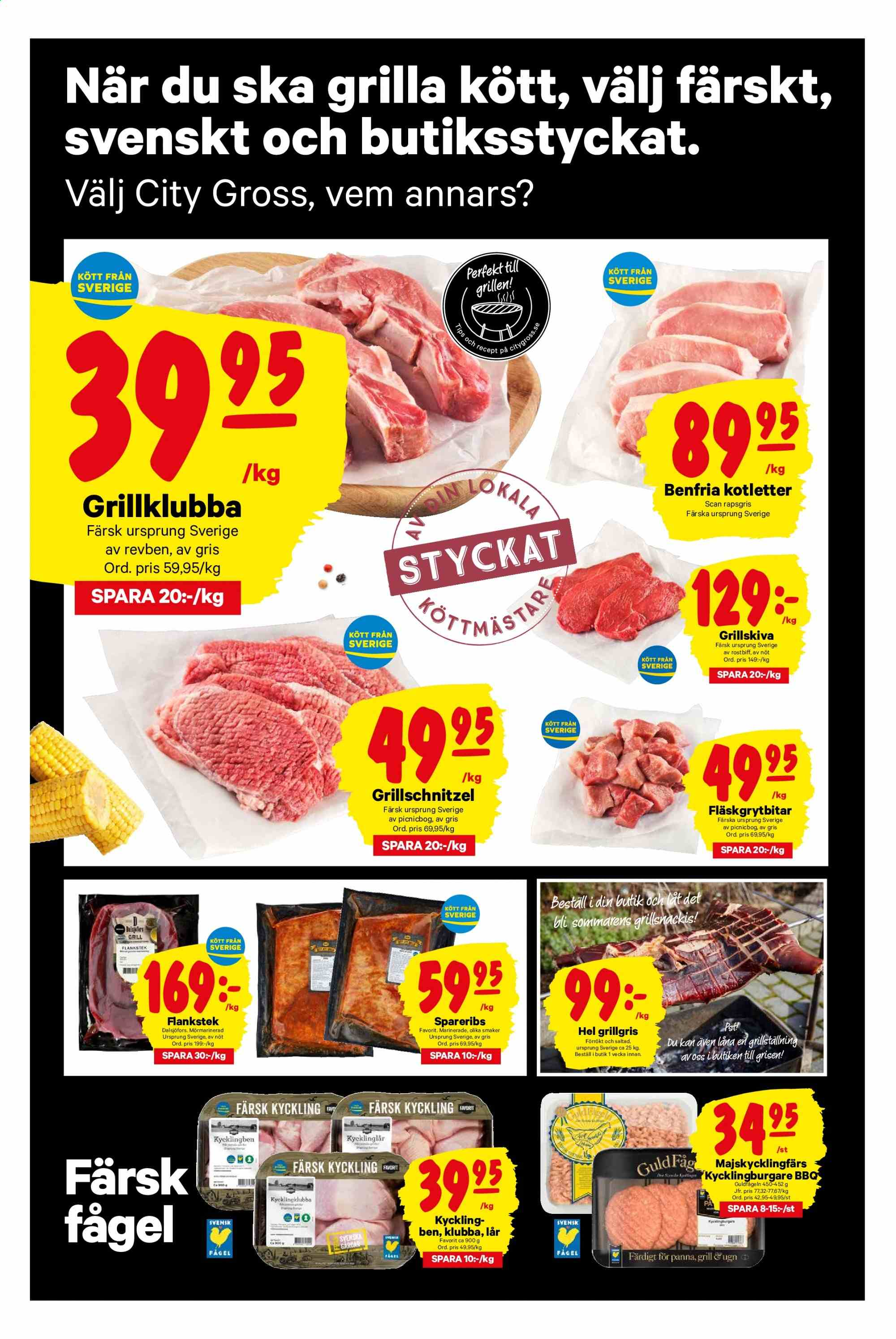City Gross reklamblad - 3/6 2019 - 9/6 2019. Sida 2.